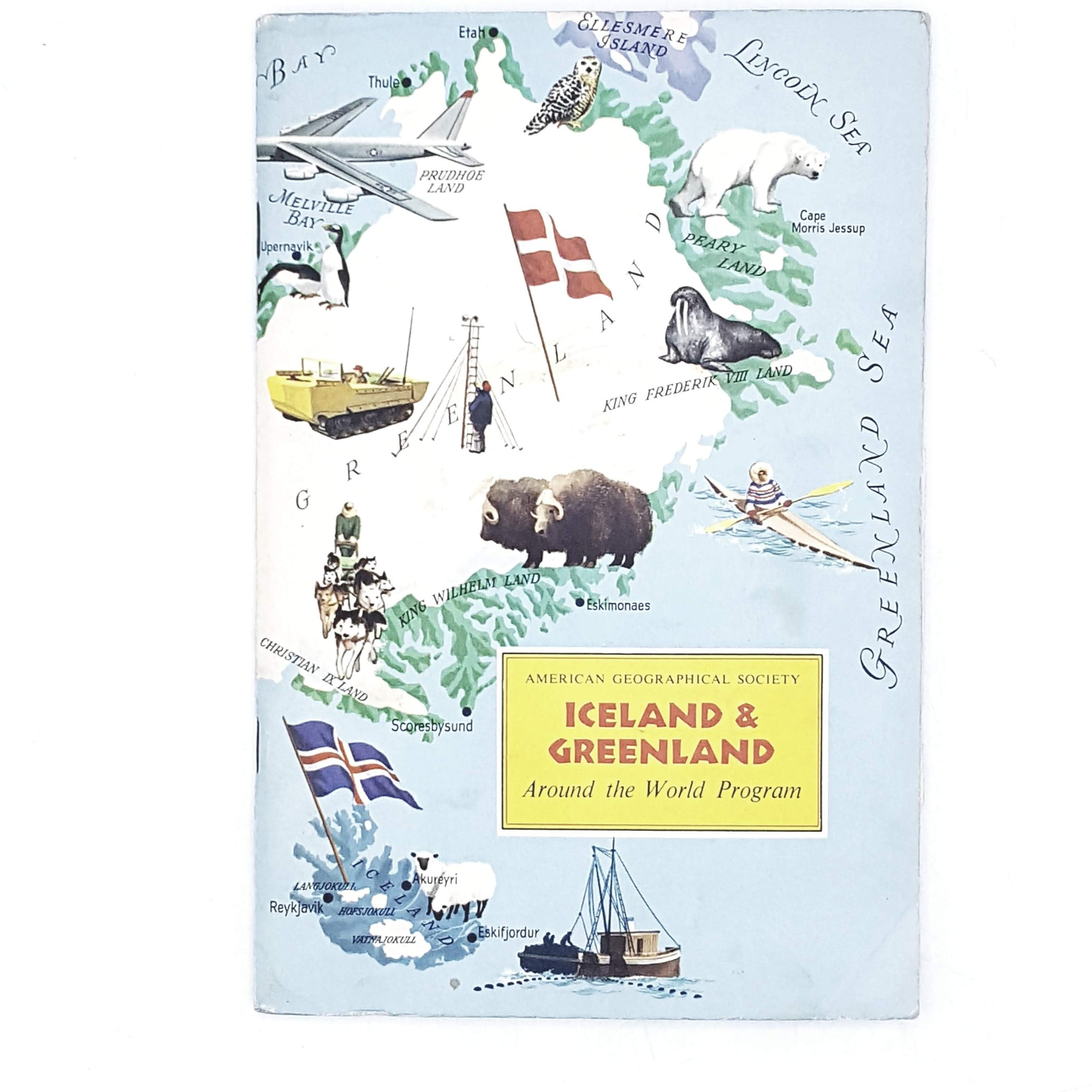 Vintage Travel: Iceland and Greenland by Michael Bond 1964