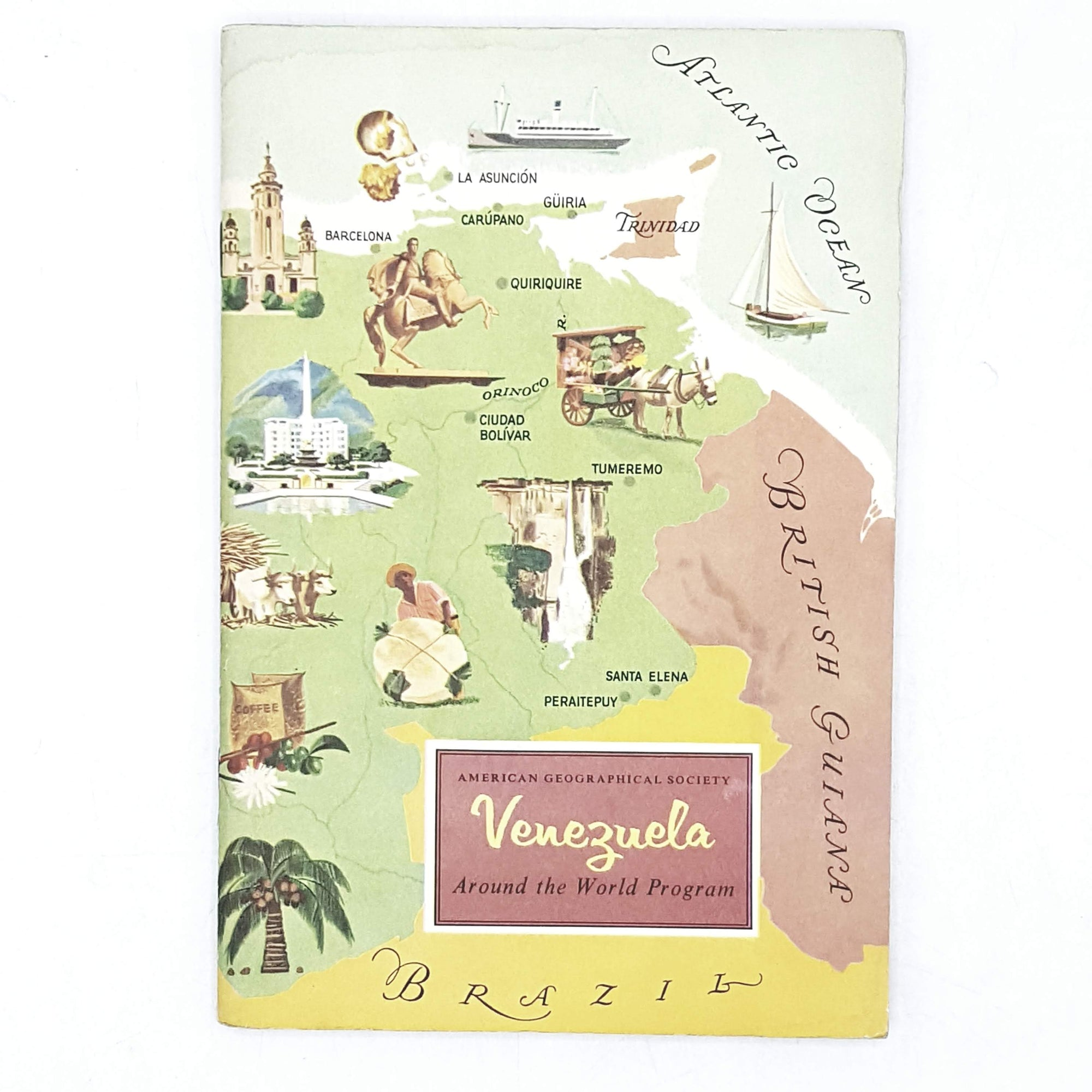 vintage-travel-venezuela-rainbow-ombre-geography-country-house-library
