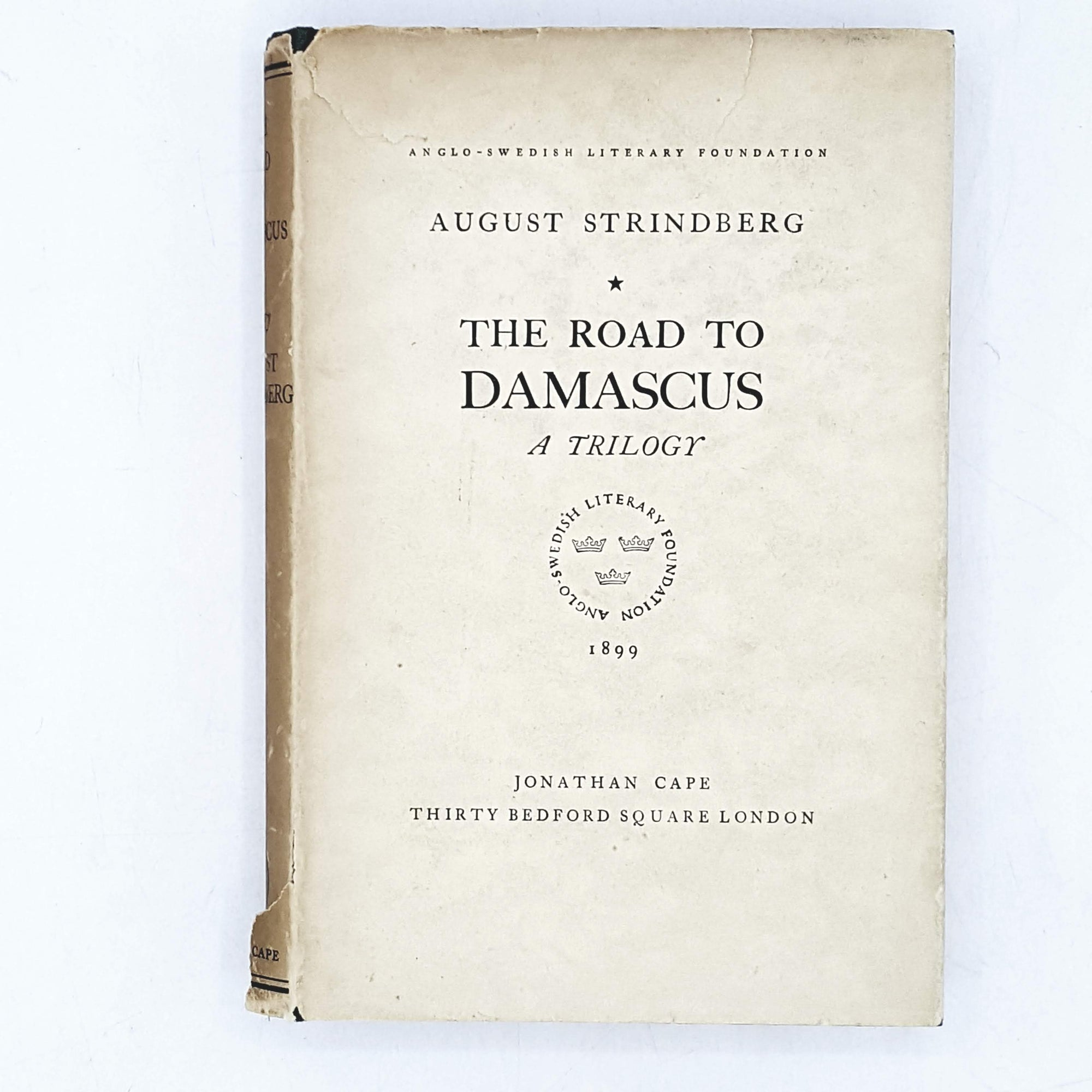 beige-road-to-damascus-by-august-strindberg-drama-play-christian-country-house-library