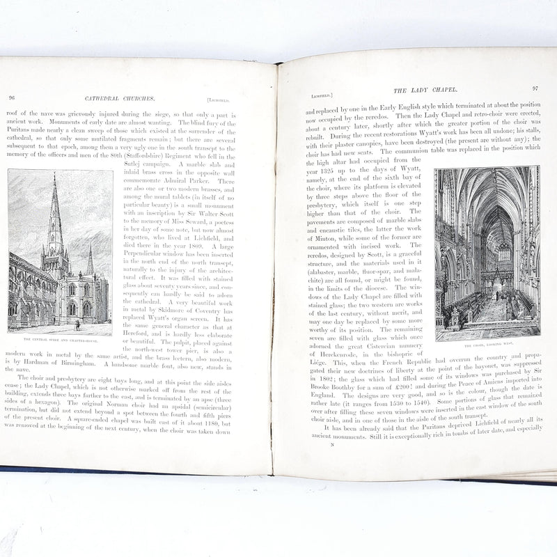 Illustrated The Cathedrals Churches of England and Wales 1884