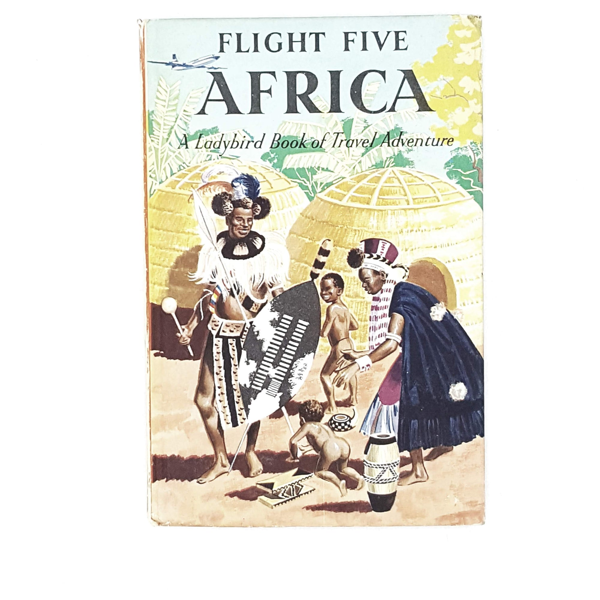 Vintage Ladybird: Flight Five Africa 1961