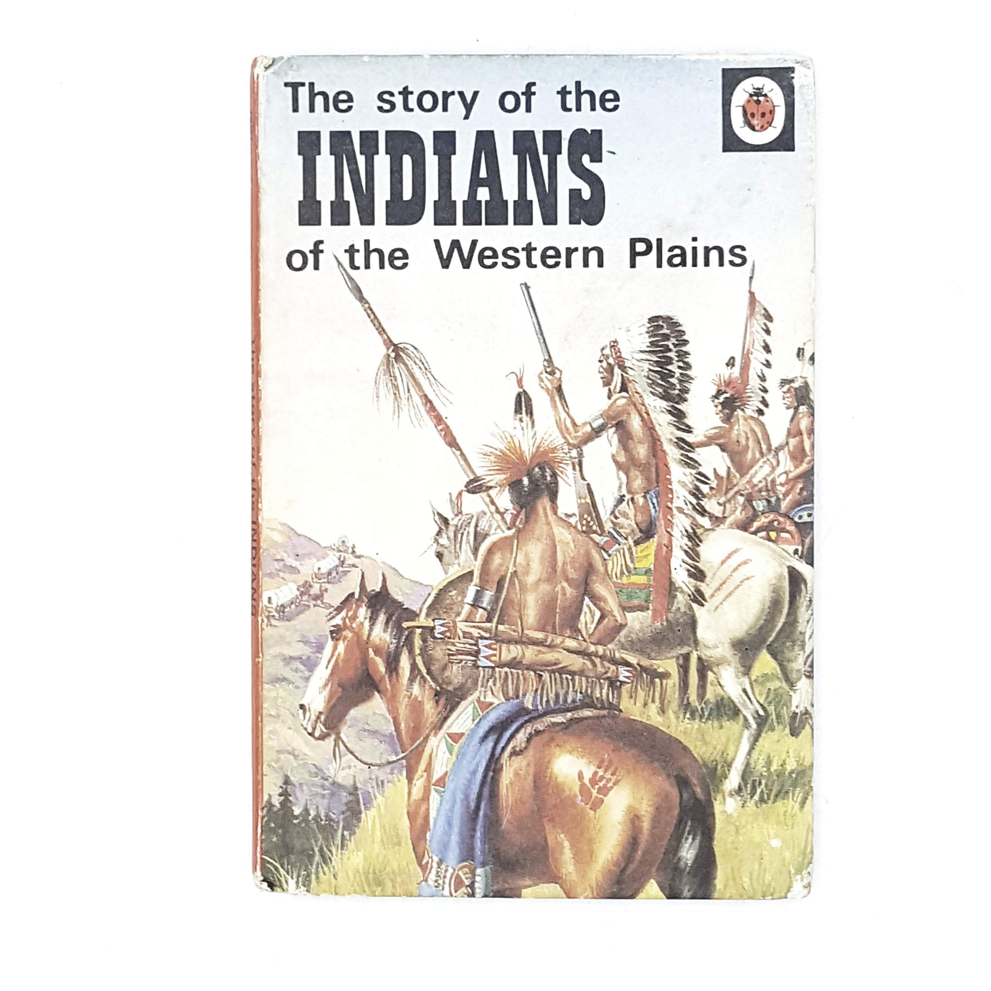 Vintage Ladybird: The Story of the Indians of the Western Plains 1973