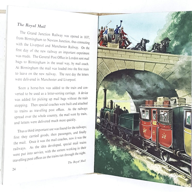 Ladybird Achievements: The Story of Our Railways 1961