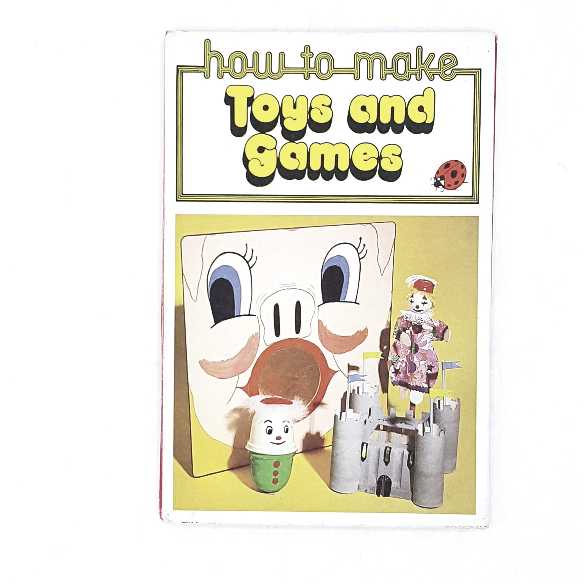 Vintage Ladybird: How to Make Toys and Games 1978