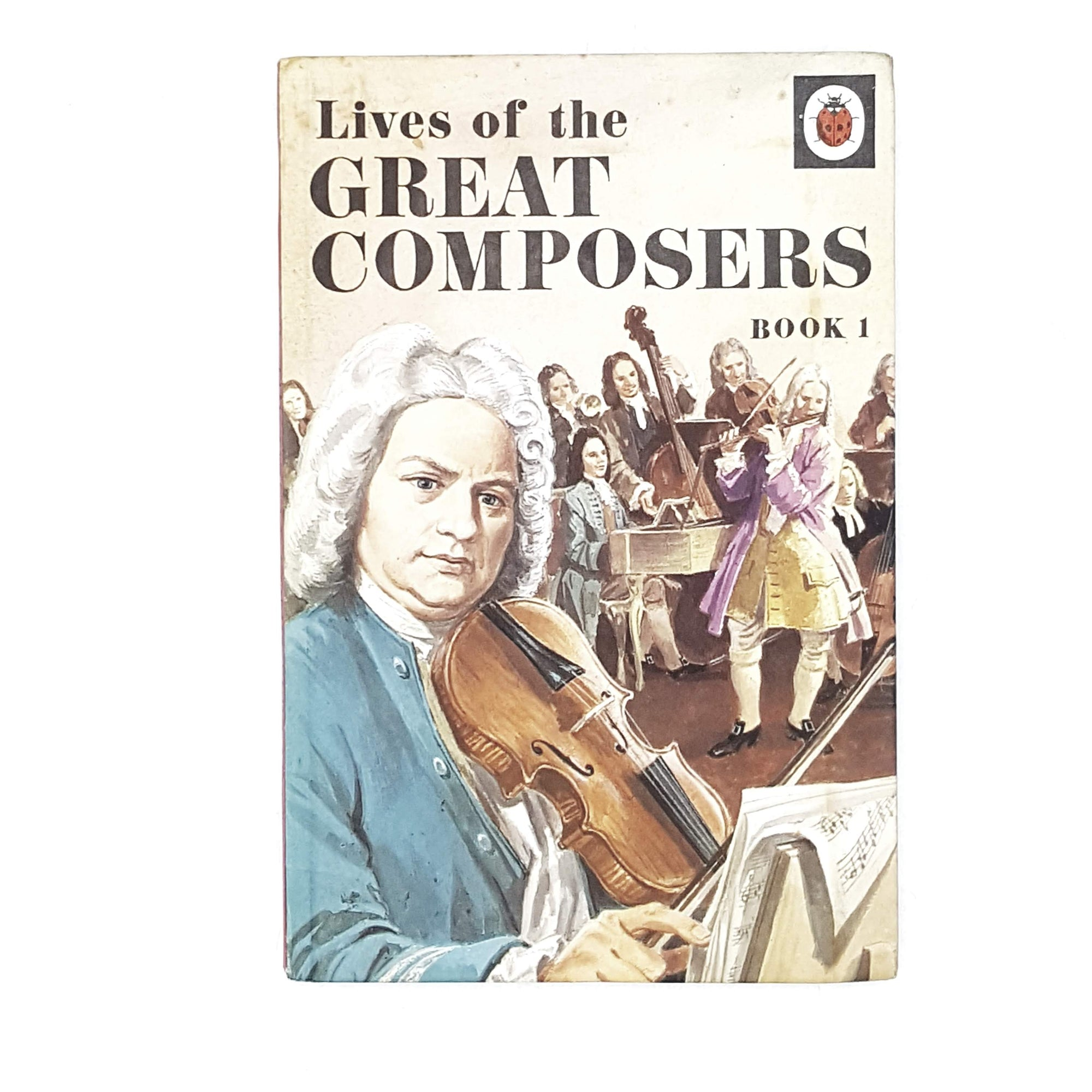 Vintage Ladybird: Lives of the Great Composers 1969