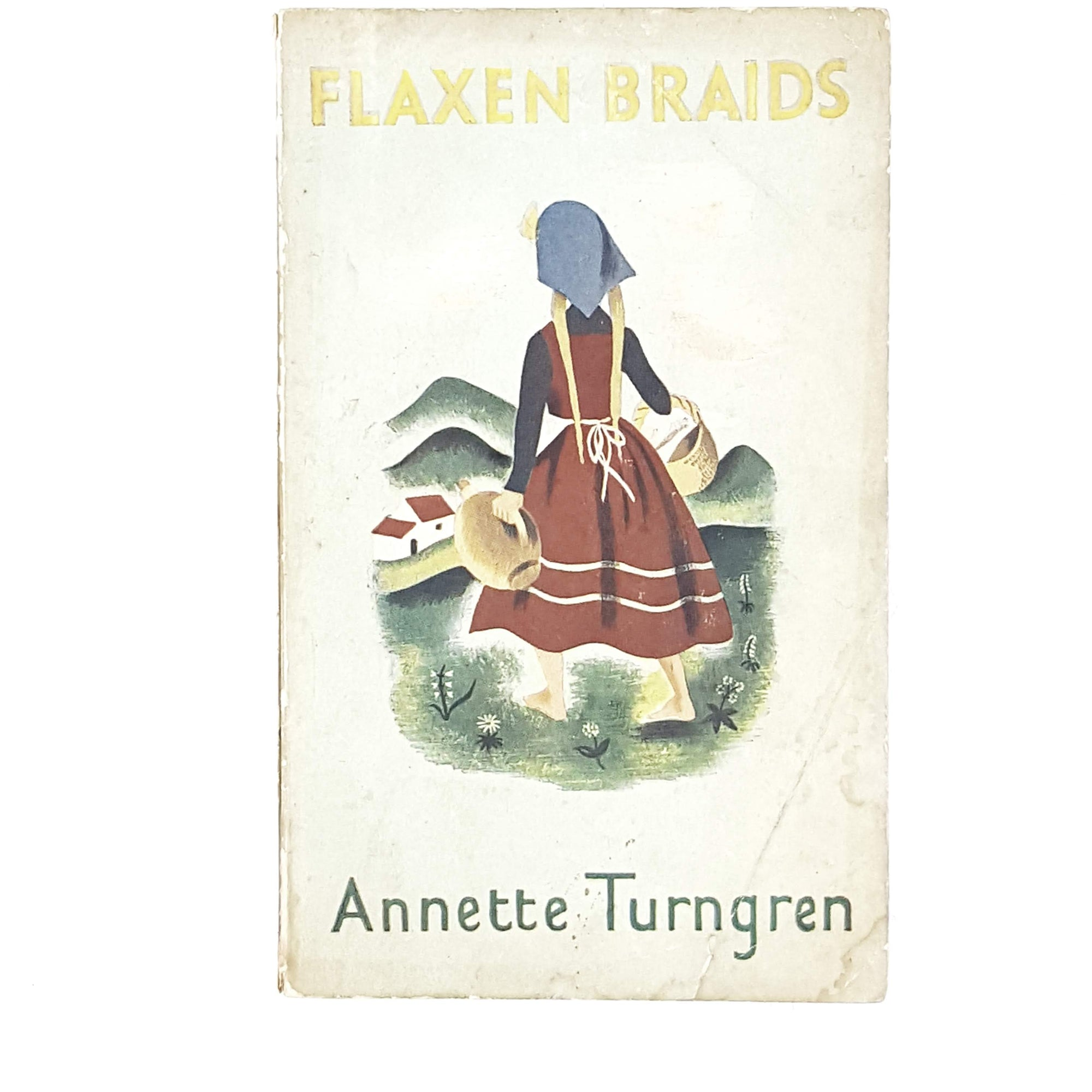 Illustrated Flaxen Braids by Annette Turngren 1945