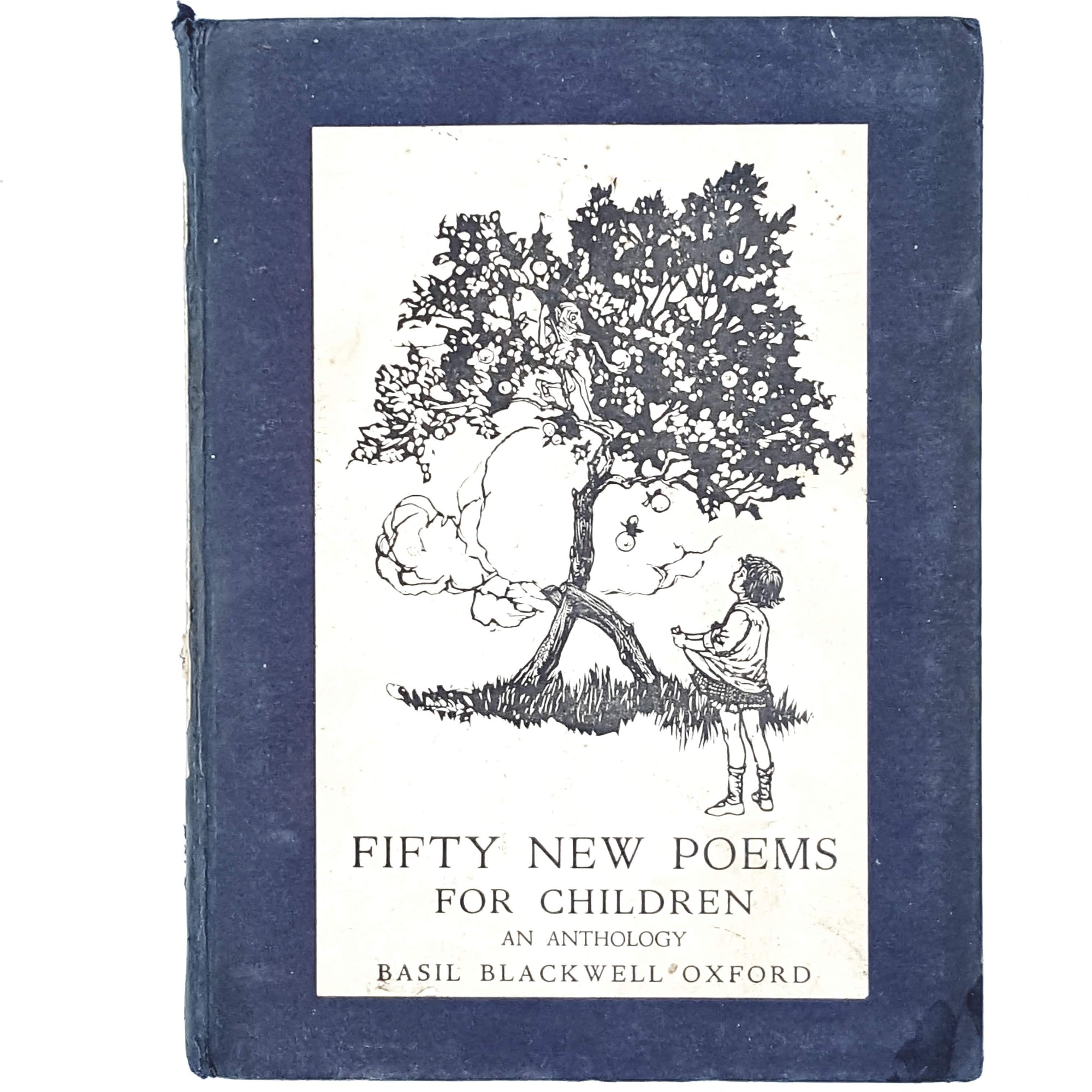 vintage-poetry-fifty-new-poems-for-children-blue-country-house-library