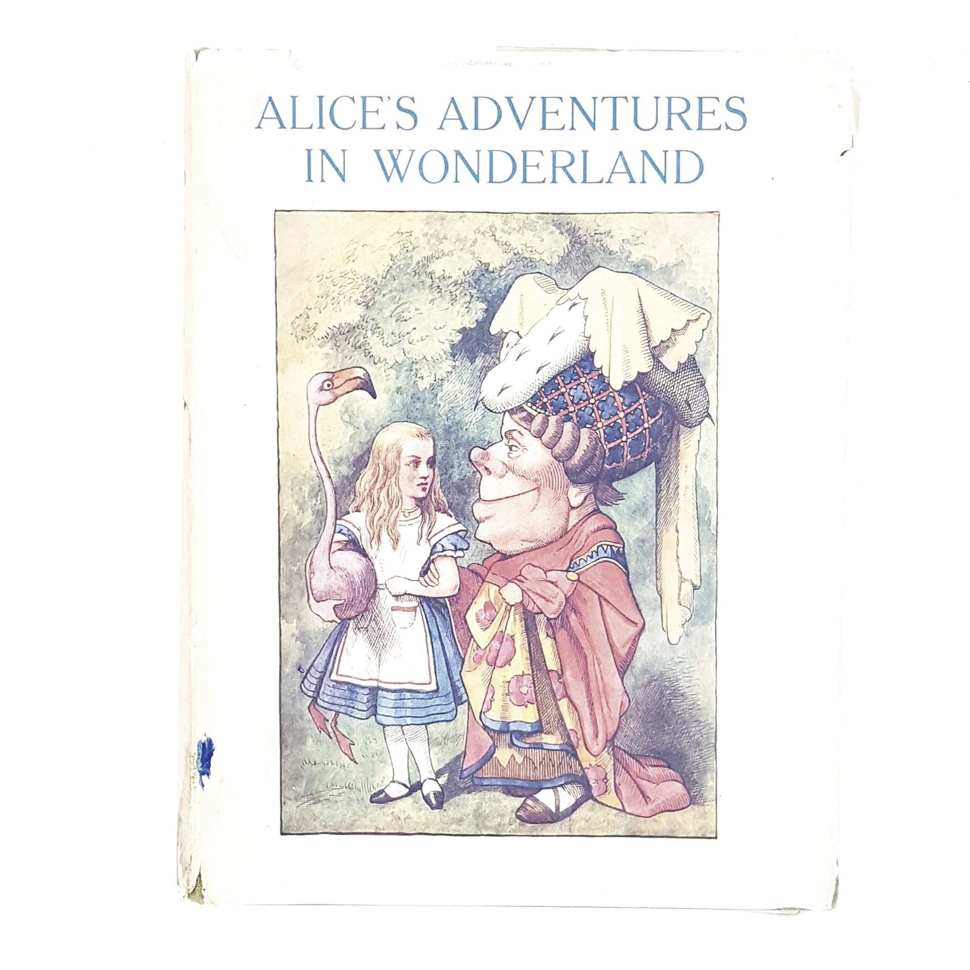 Illustrated Lewis Carroll's Alice's Adventures in Wonderland by 1962