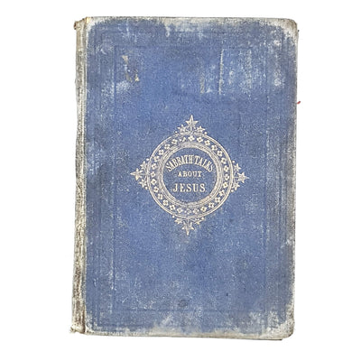sabbath-talks-about-jesus-1869-blue-christian-bible-country-house-library