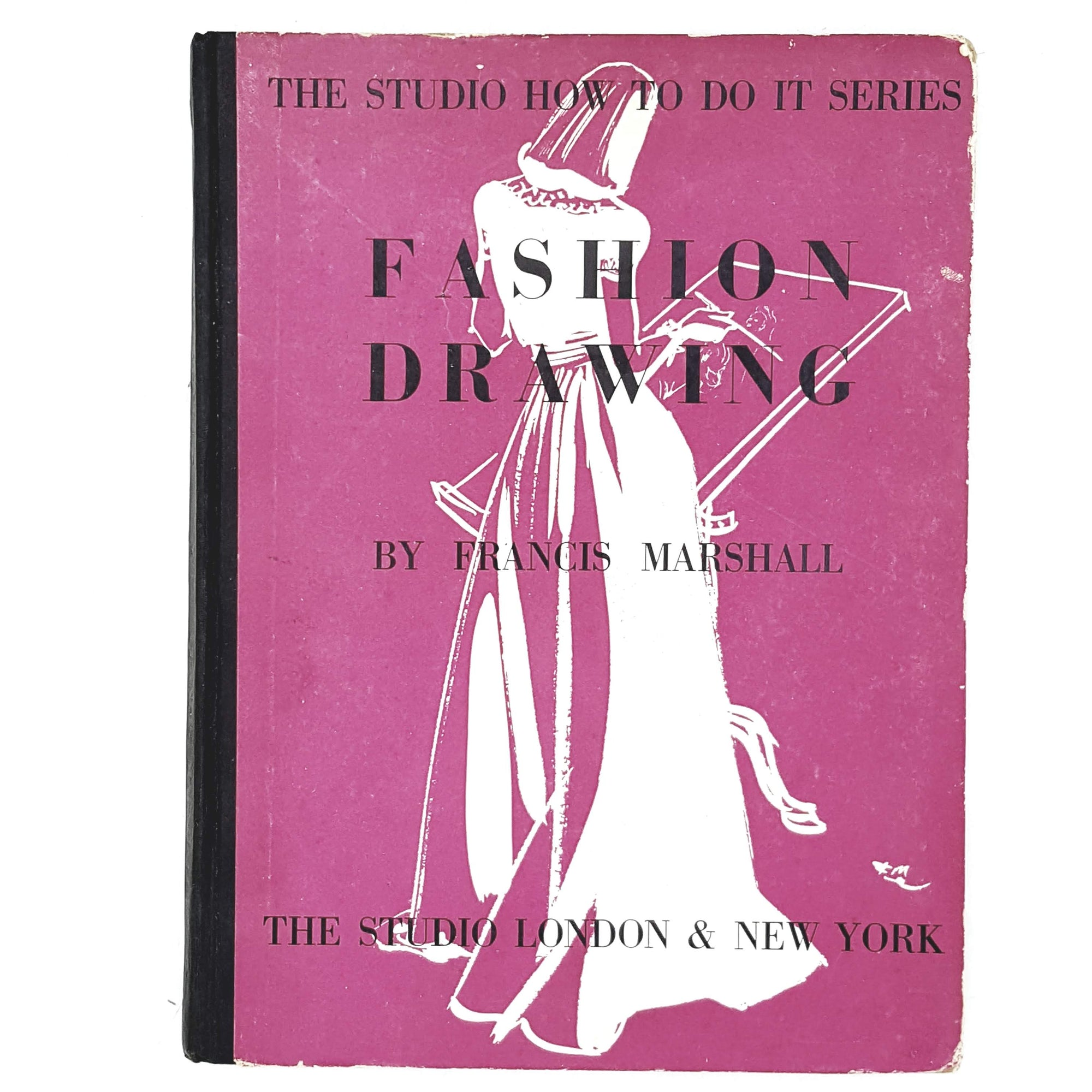 Vintage Fashion Drawing by Francis Marshall 1943