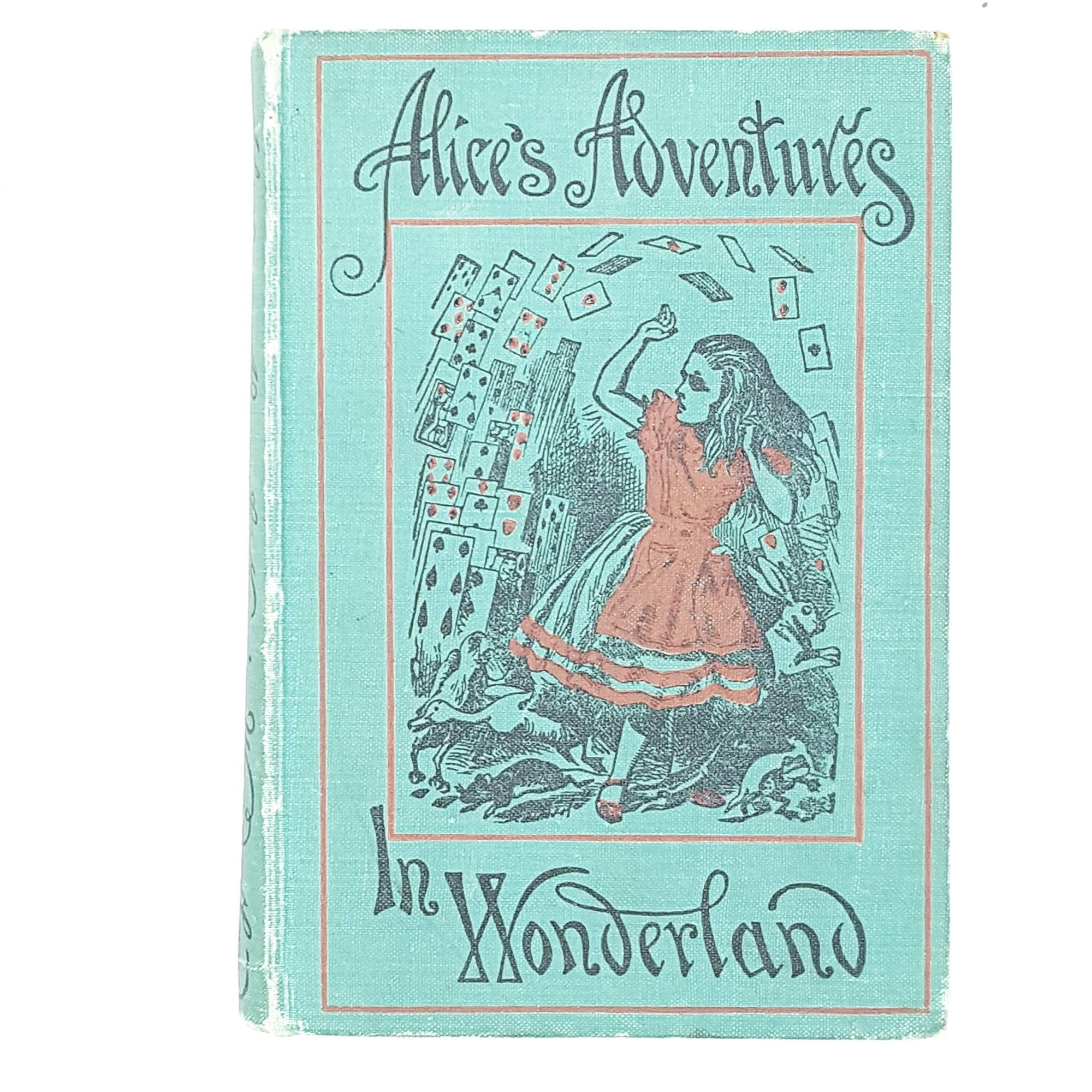 lewis-carrolls-alices-adventures-in-wonderland-turquoise-country-house-library