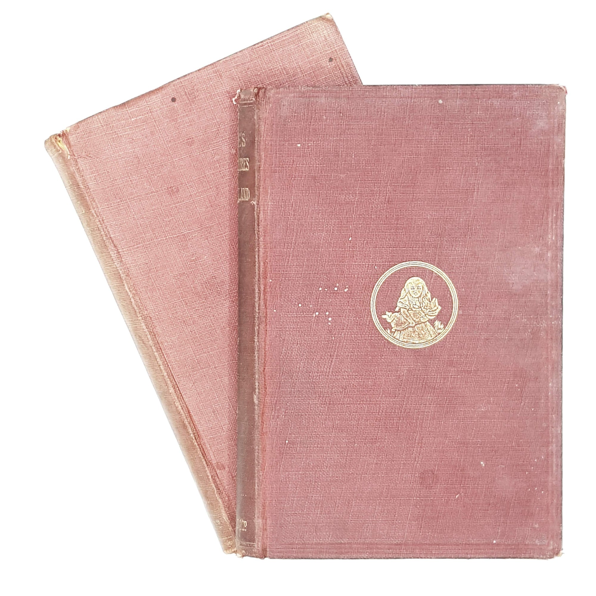 Collection Alice's Adventures in Wonderland and Through the Looking Glass by Lewis Carroll 1911 - 1914