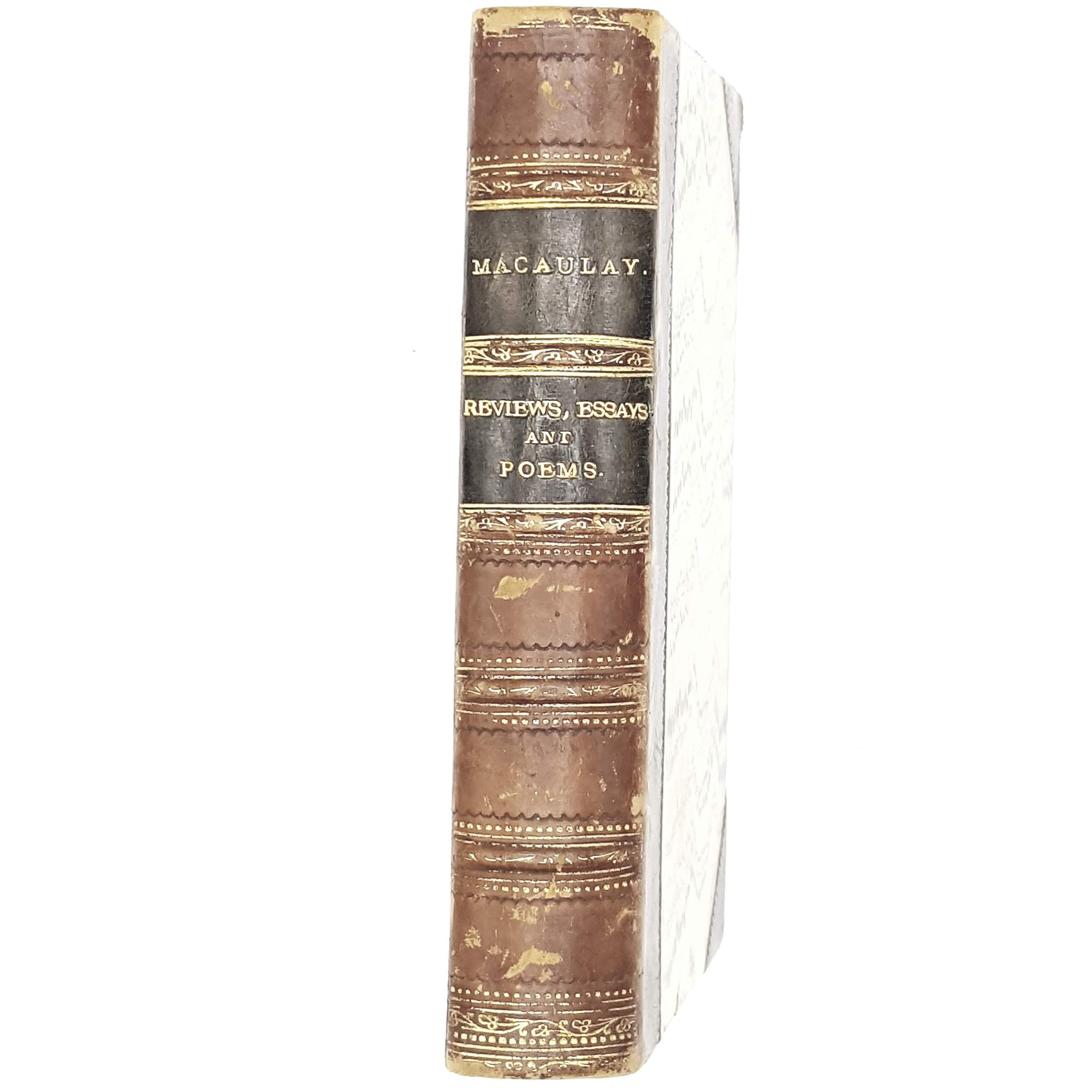 Lord Macaulay Reviews, Essays and Poems c1890