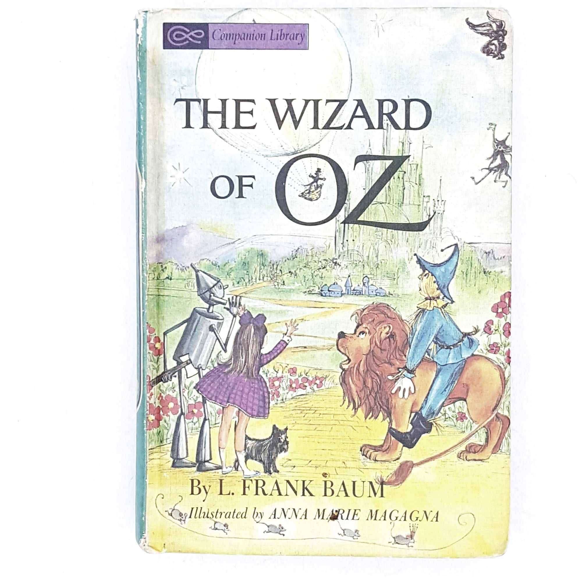 The Wizard of Oz by L. Frank Baum and The Prince and the Pauper by Samuel Clemens 1965