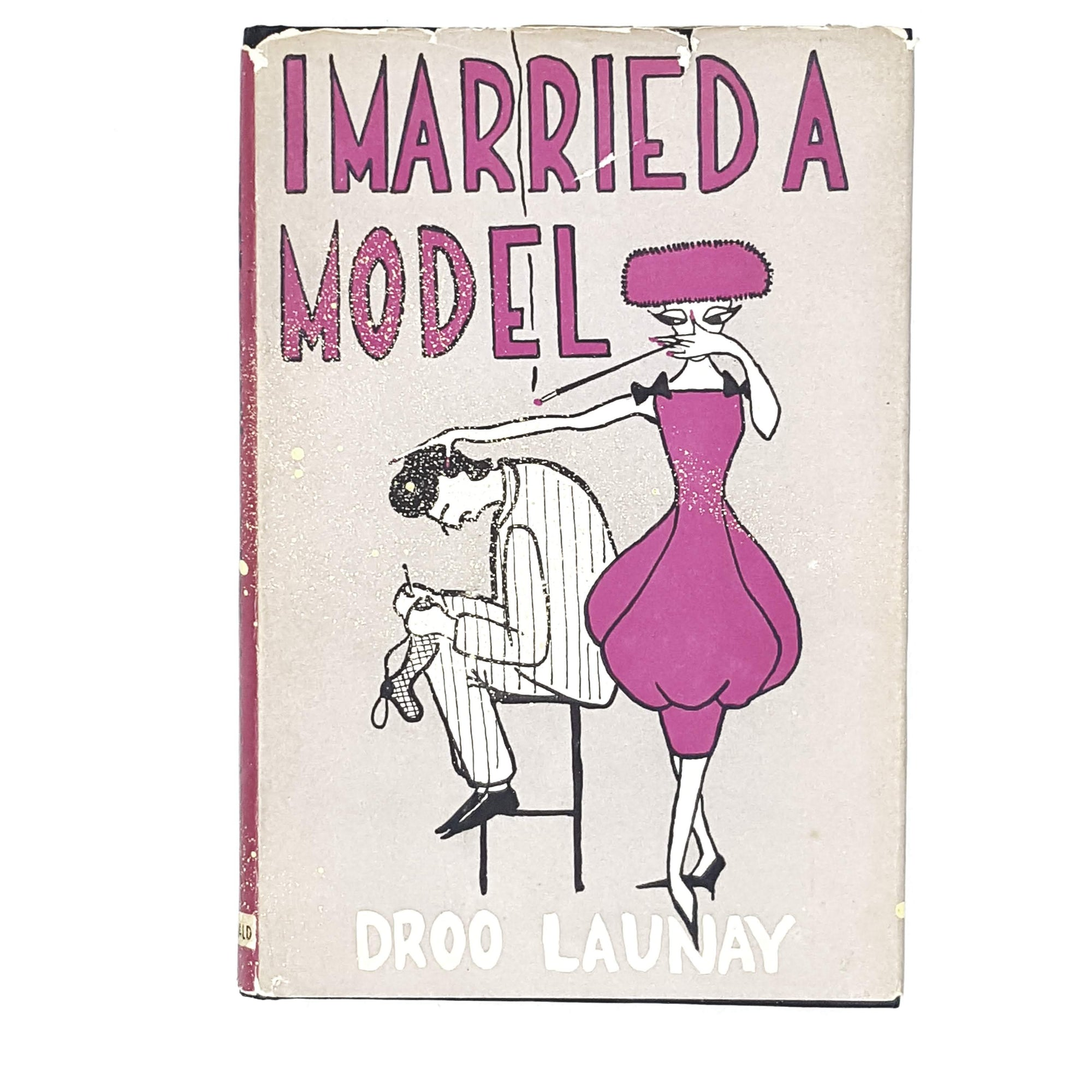 Vintage Humour I Married a Model by Droo Launay 1957