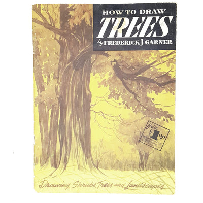 vintage-arts-how-to-draw-trees-yellow-country-house-library