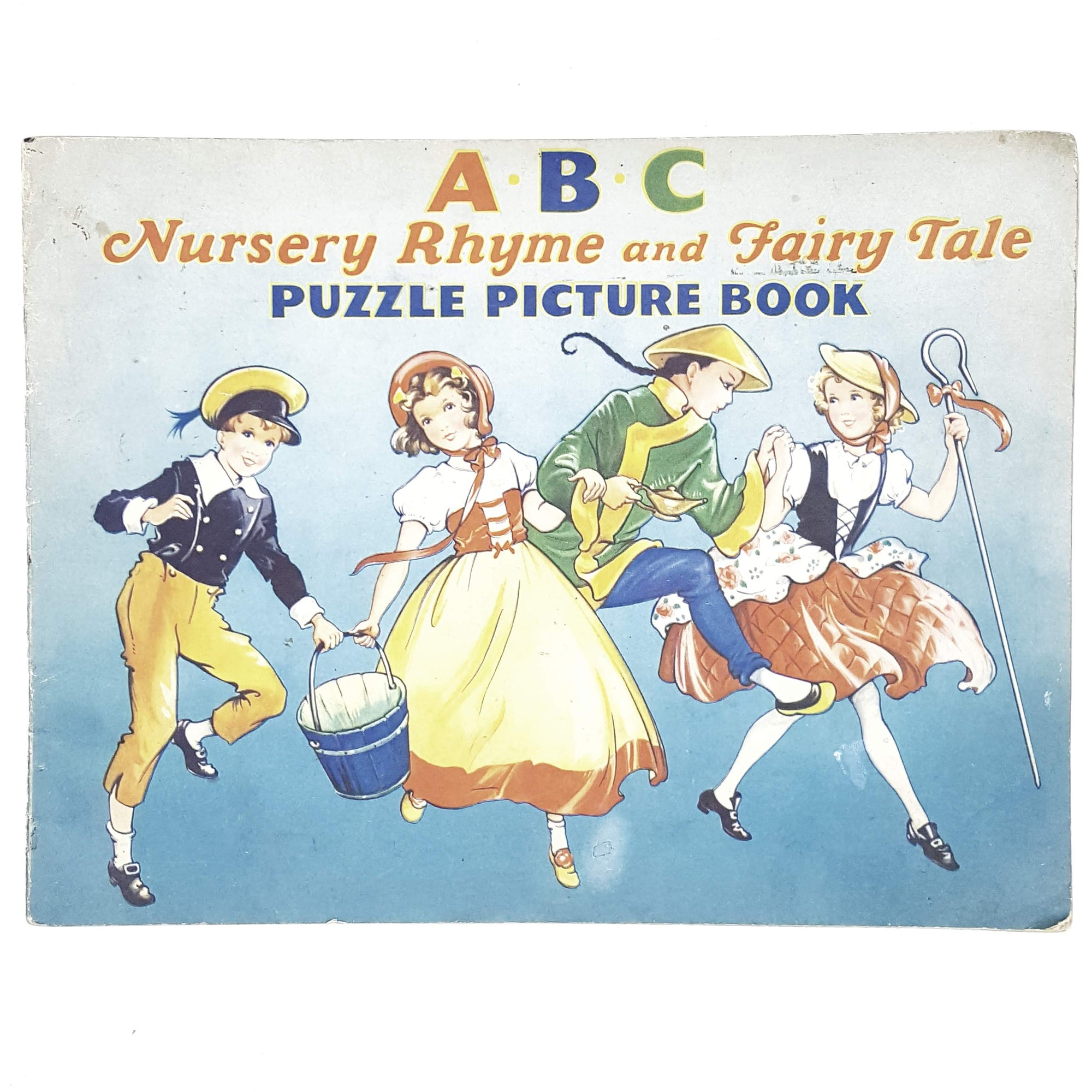 vintage-kindergarten-abc-nursery-rhyme-and-fairy-tale-puzzle-picture-book-country-house-library