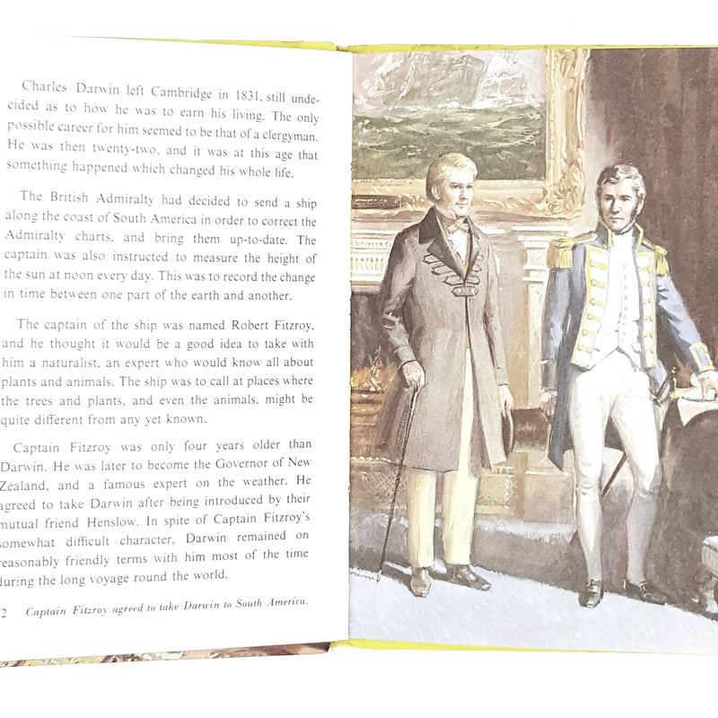 ladybird-history-charles-darwin-1973-kindergarten-books-country-house-library