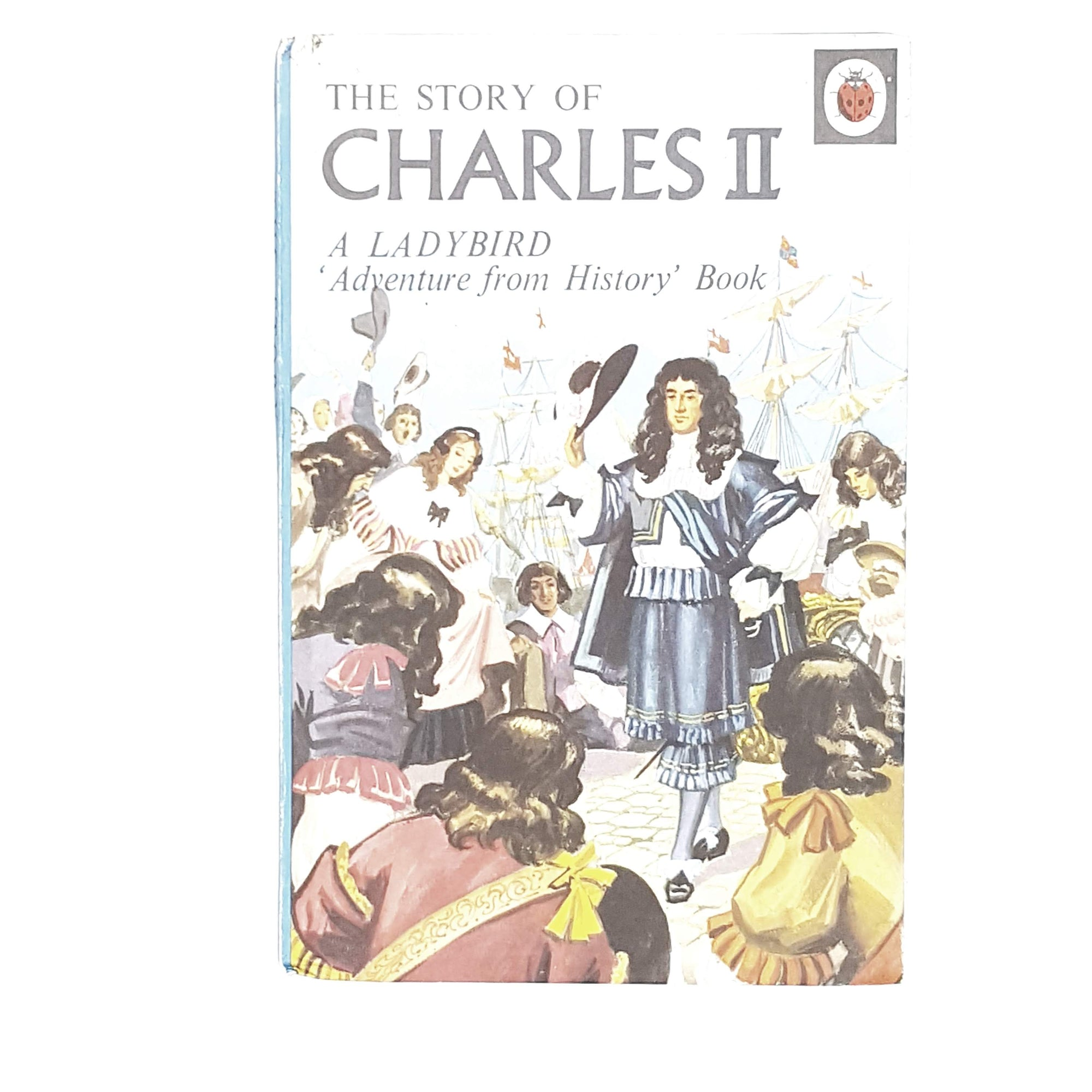 ladybird-history-the-story-of-charles-ii-1960-vintage-kindergarten-books-online-bookstore-country-house-library