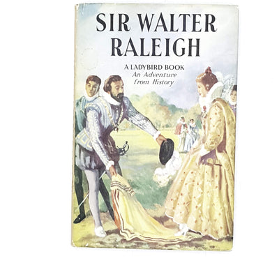 ladybird-history-sir-walter-raleigh-1957-vintage-kindergarten-books-online-bookstore-country-house-library