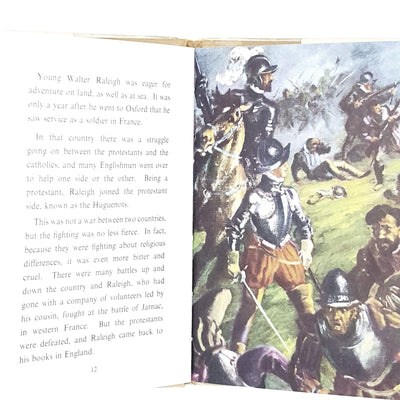 ladybird-history-sir-walter-raleigh-vintage-kindergarten-books-online-bookstore-country-house-library