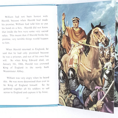 ladybird-history-william-conqueror-1956-vintage-online-bookstore-country-house-library