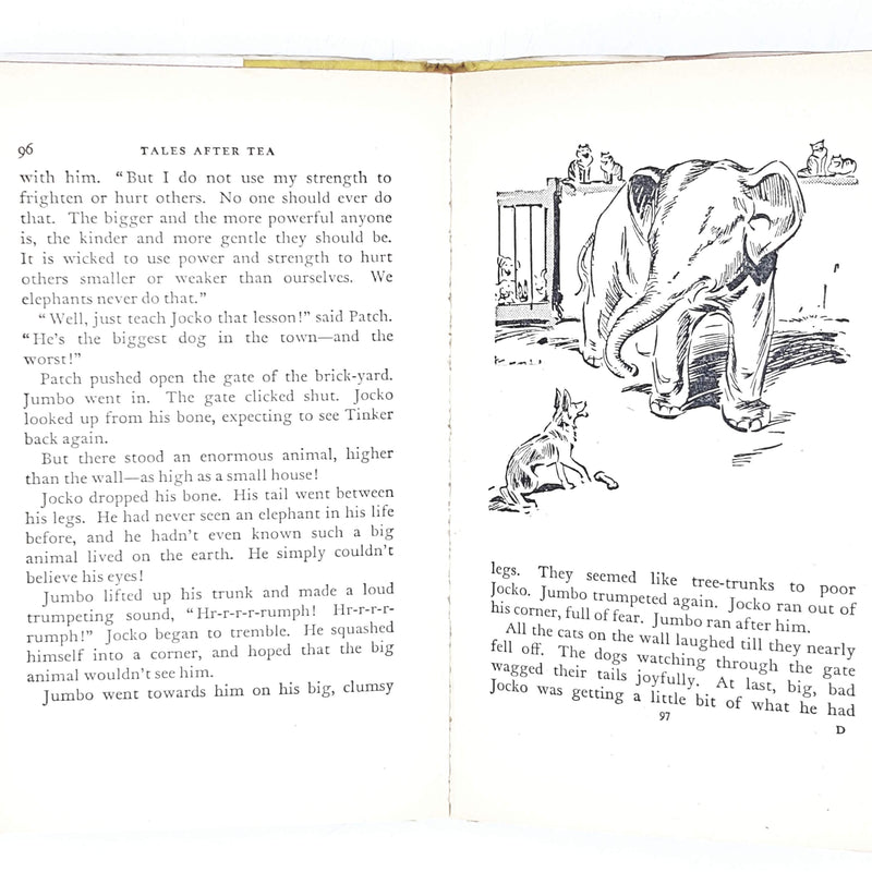 Illustrated Enid Blyton's Tales After Tea 1967