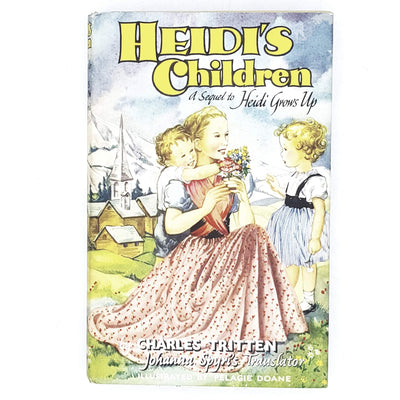 illustrated-heidis-children-by-charles-tritten-1970-rare-books-2nd-hand-bookstore-country-house-library