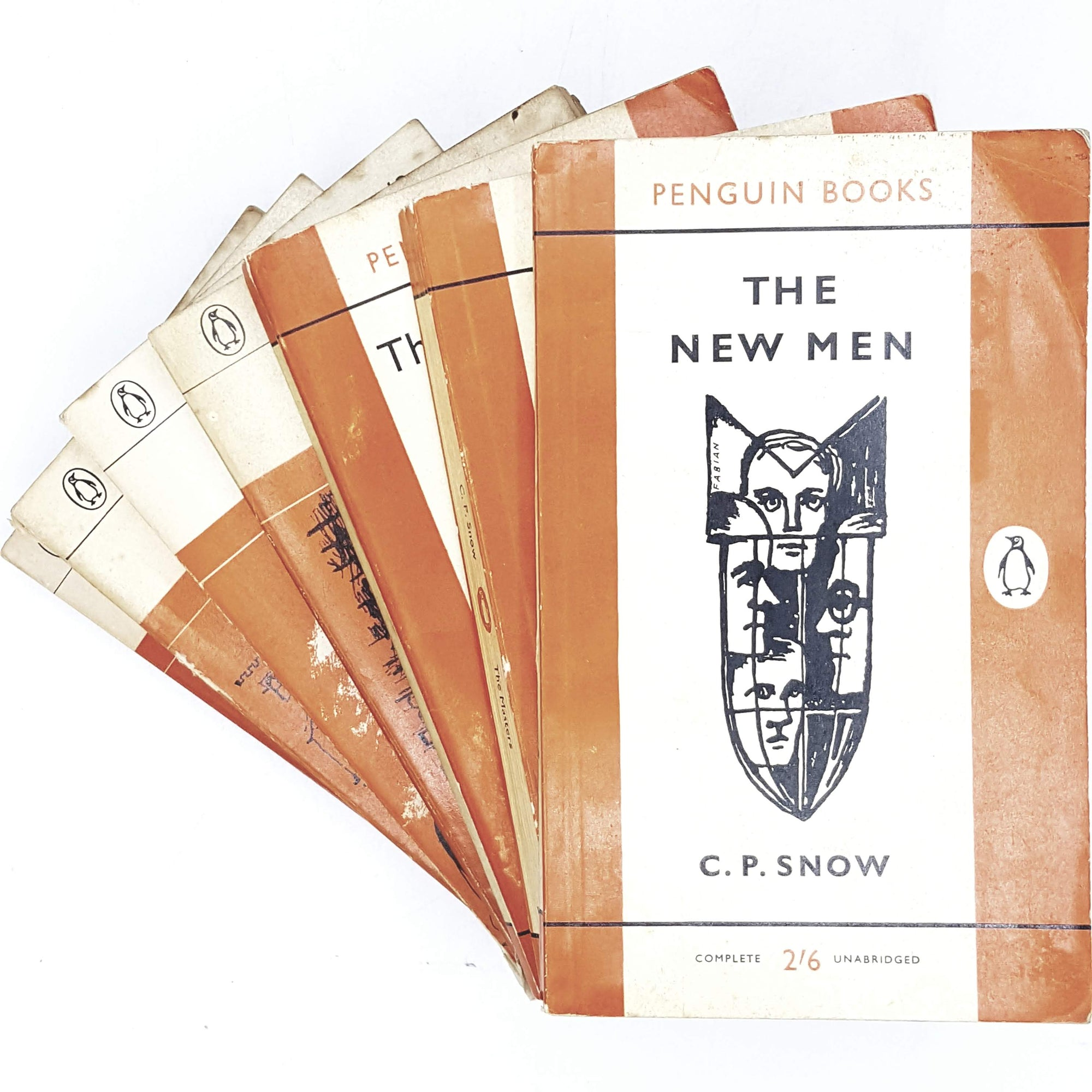 Vintage Penguin Collection of C. P. Snow 1960 - 1965
