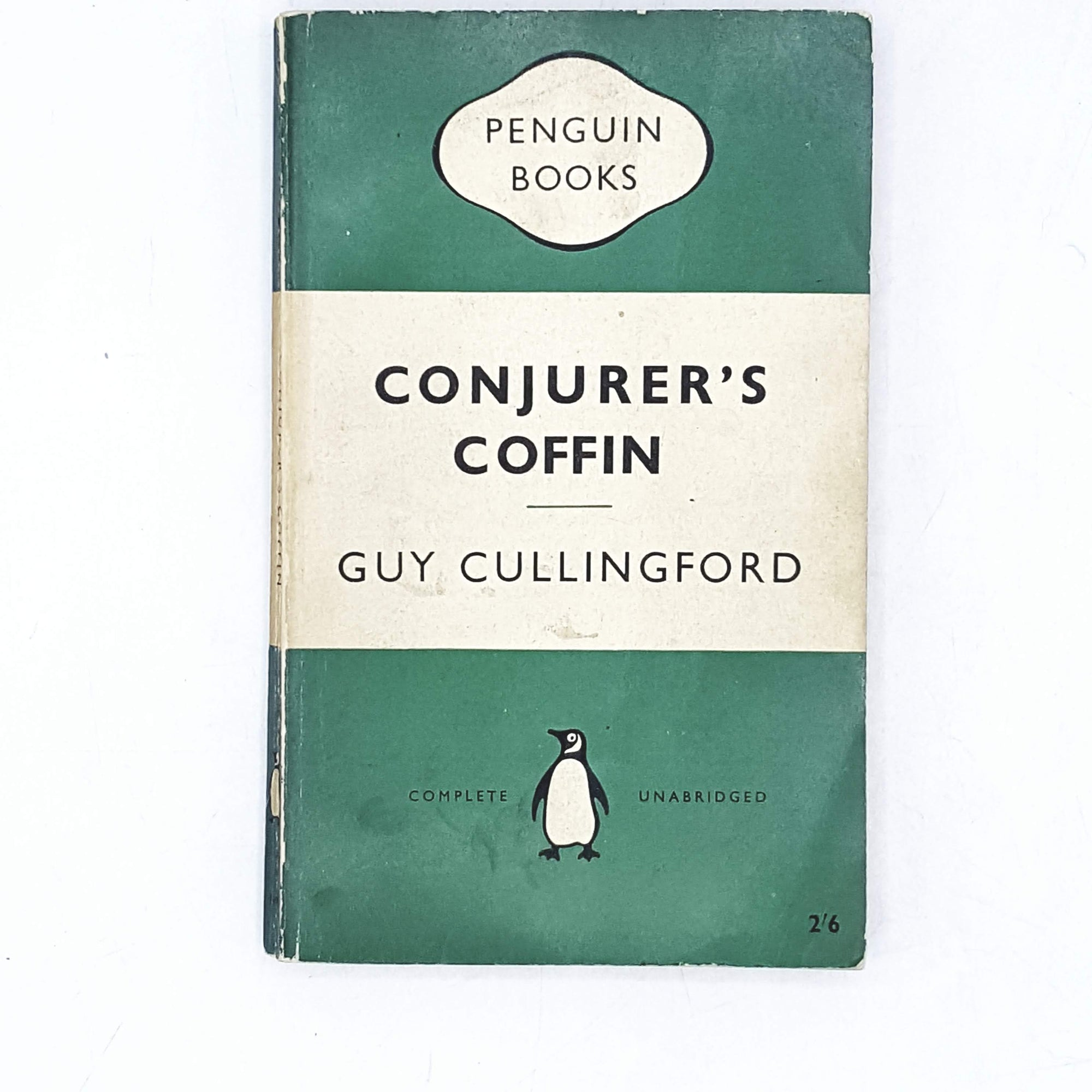 Vintage Penguin Conjurer's Coffin by Guy Cullinford 1957