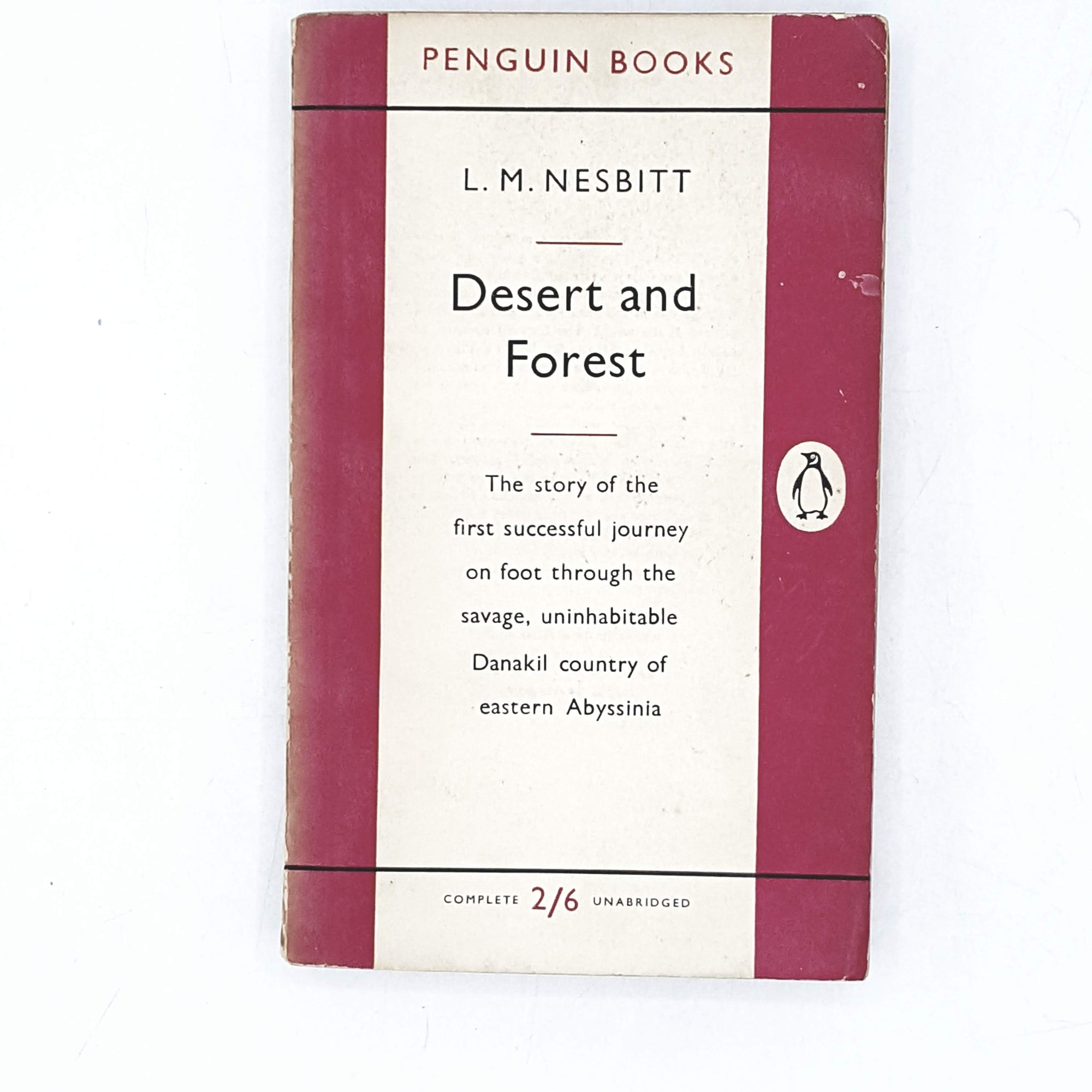 Vintage Penguin Desert and Forest by L. M. Nesbitt 1955