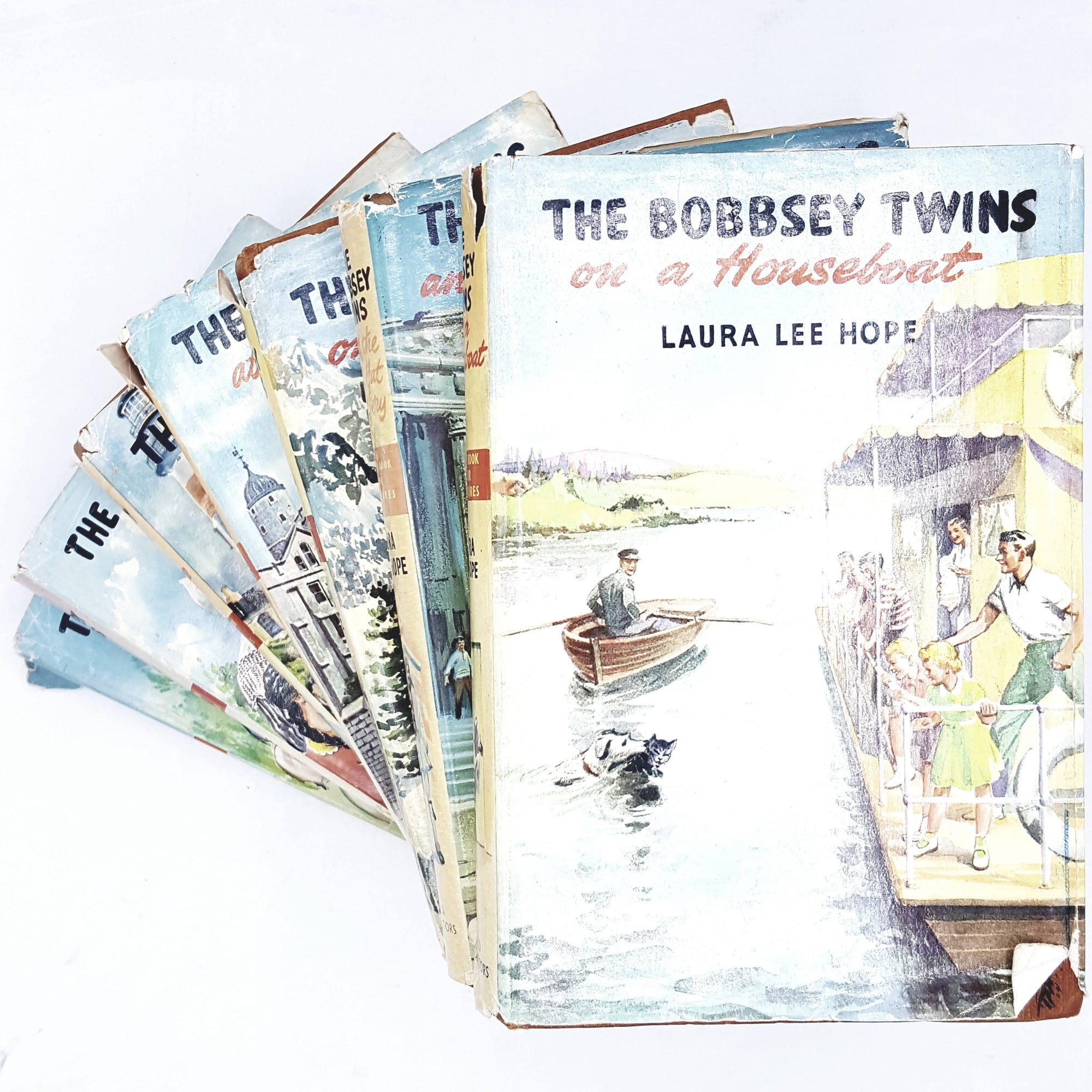 vintage-collection-the-bobbsey-twins-by-laura-lee-hope-1949-1960-rare-books-country-house-library