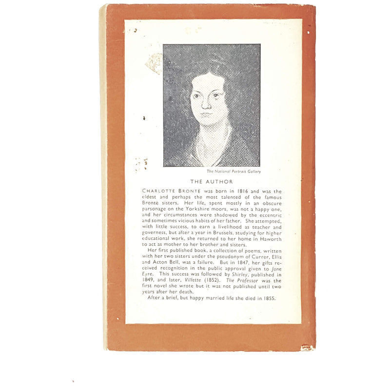 charlotte-brontes-the-professor-1948-orange-rare-books-country-house-library