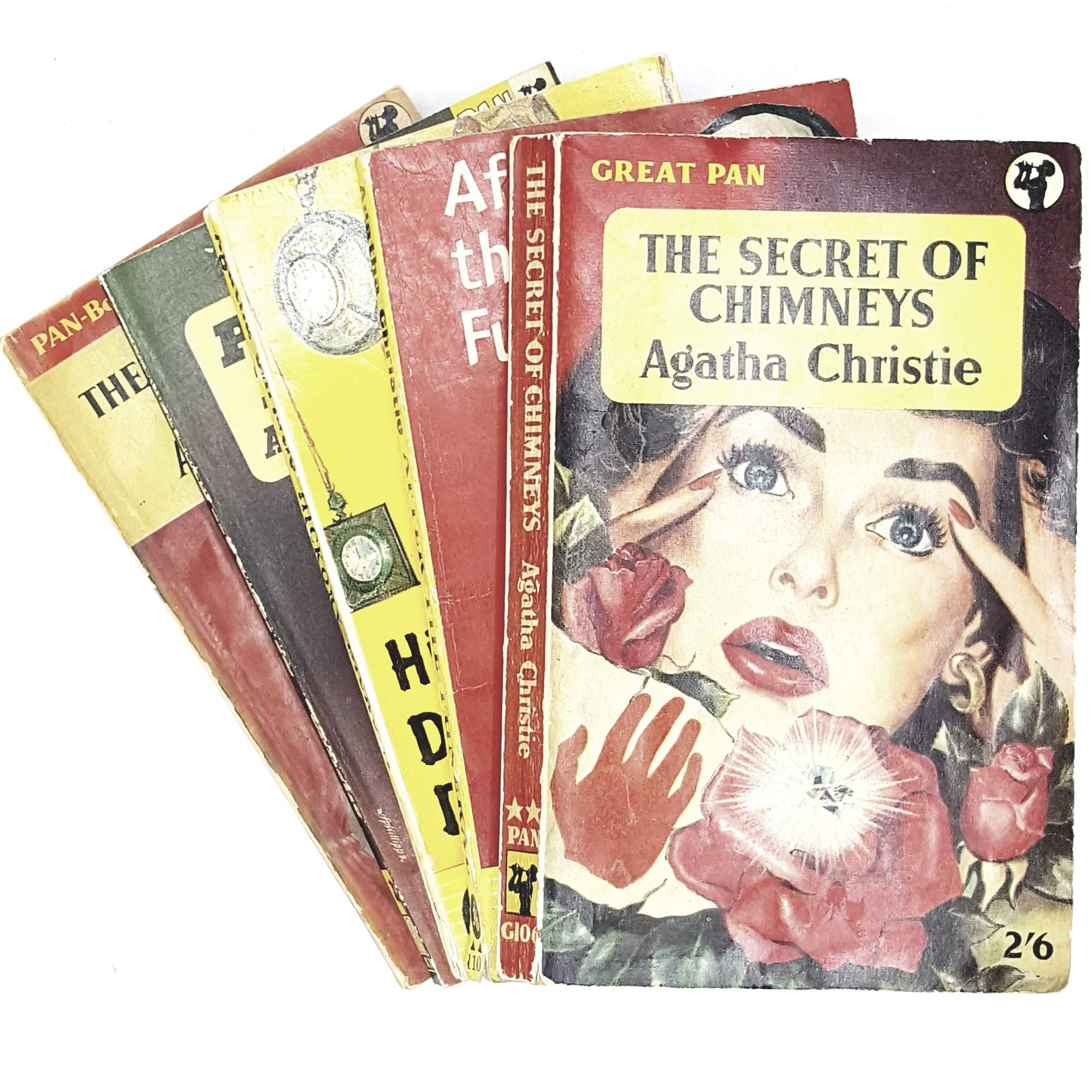 Collection: Agatha Christie Red Crime Set 1954 - 1963