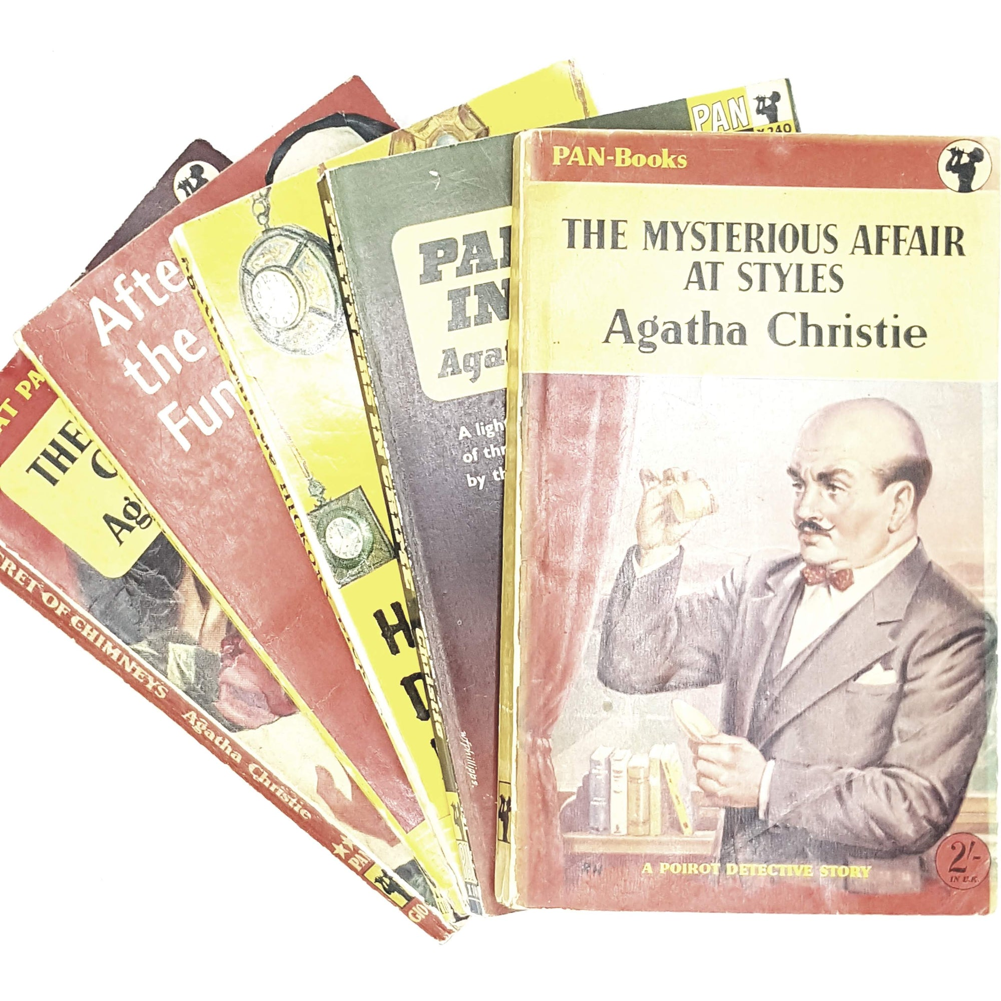agatha-christie-crime-collection-1954-1963-rare-books-country-house-library