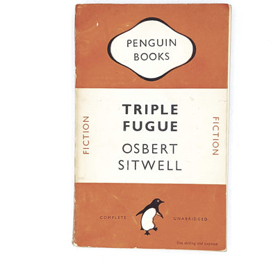 vintage-penguin-triple-fugue-by-osbert-sitwell-1948-orange-rare-books-country-house-library