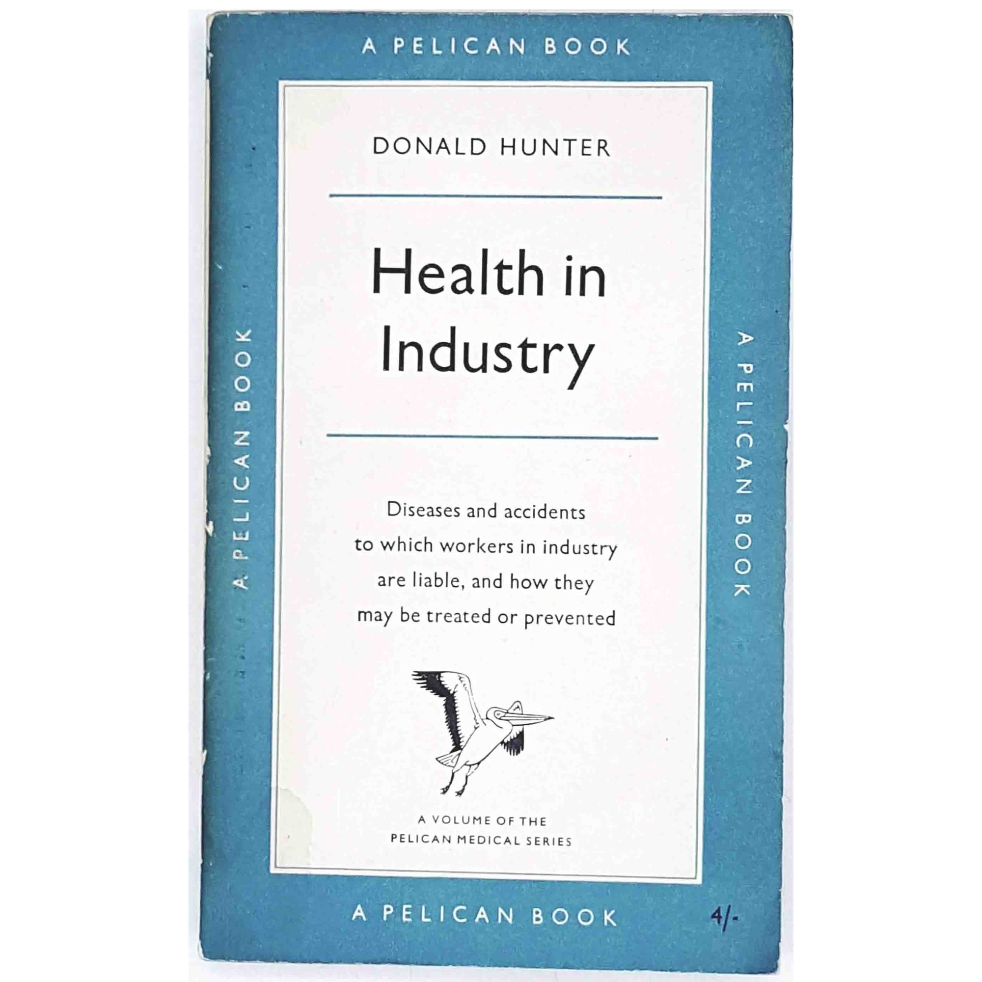 vintage-pelican-health-in-industry-by-donald-hunter-1959-antique-pale-blue-country-house-library