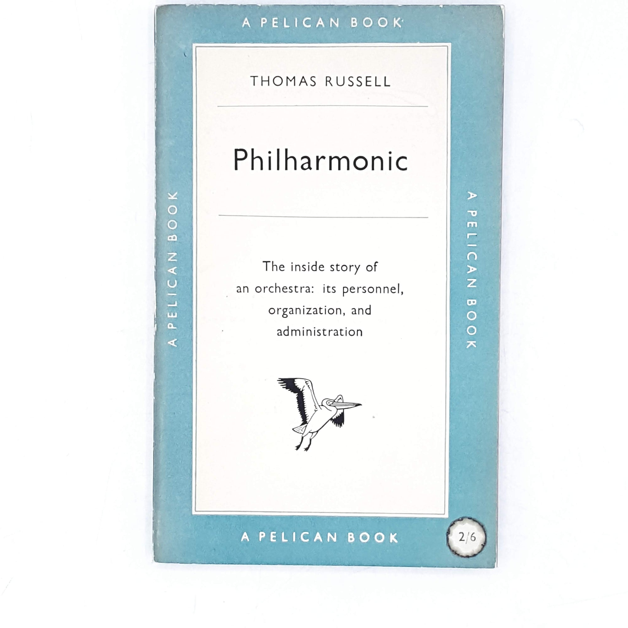 Vintage Pelican: Philharmonic by Thomas Russell 1953
