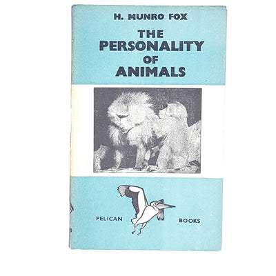 vintage-pelican-the-personality-of-animals-by-h-munro-fox-1940-antique-pale-blue-country-house-library