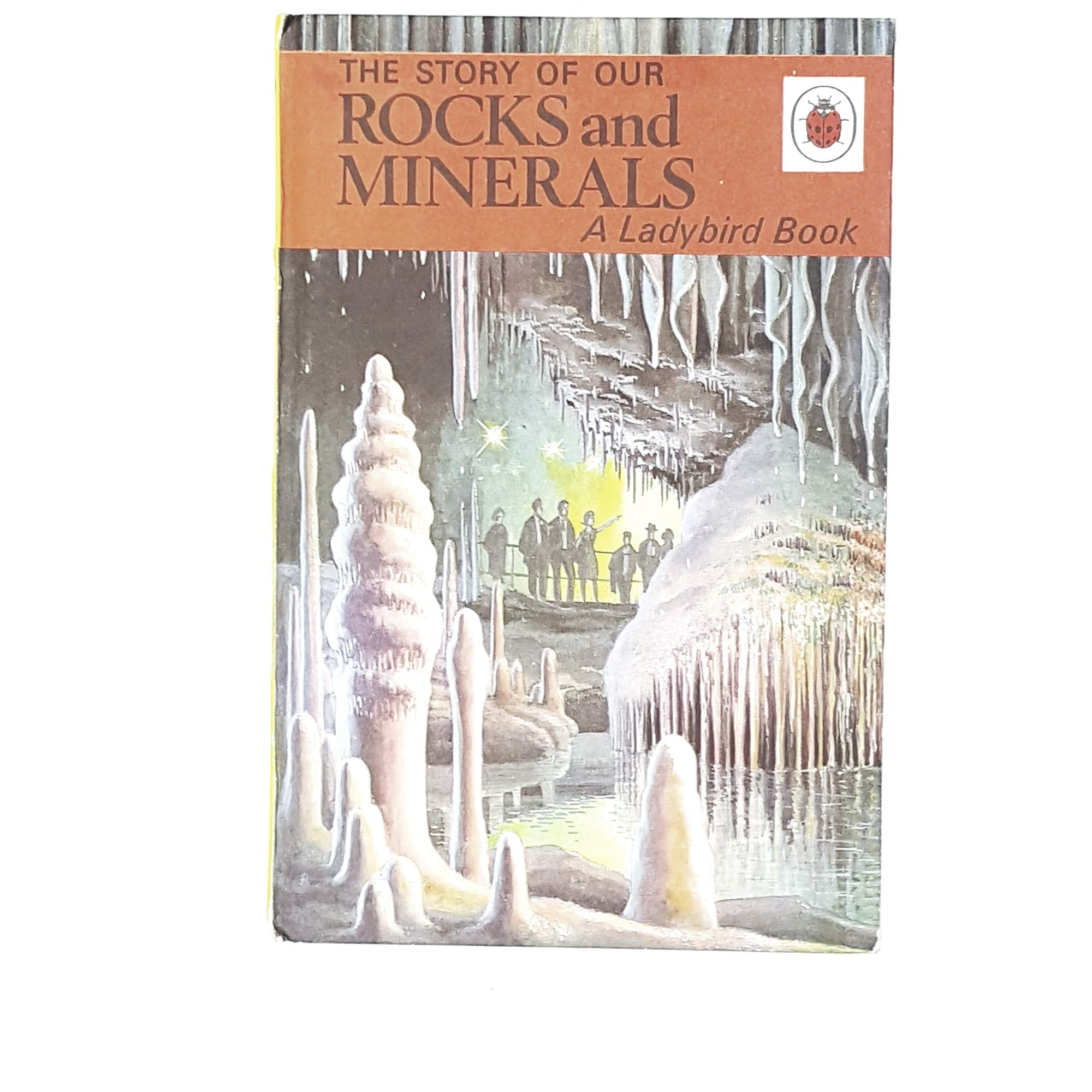 Vintage Ladybird: The Story of Our Rocks and Minerals 1966