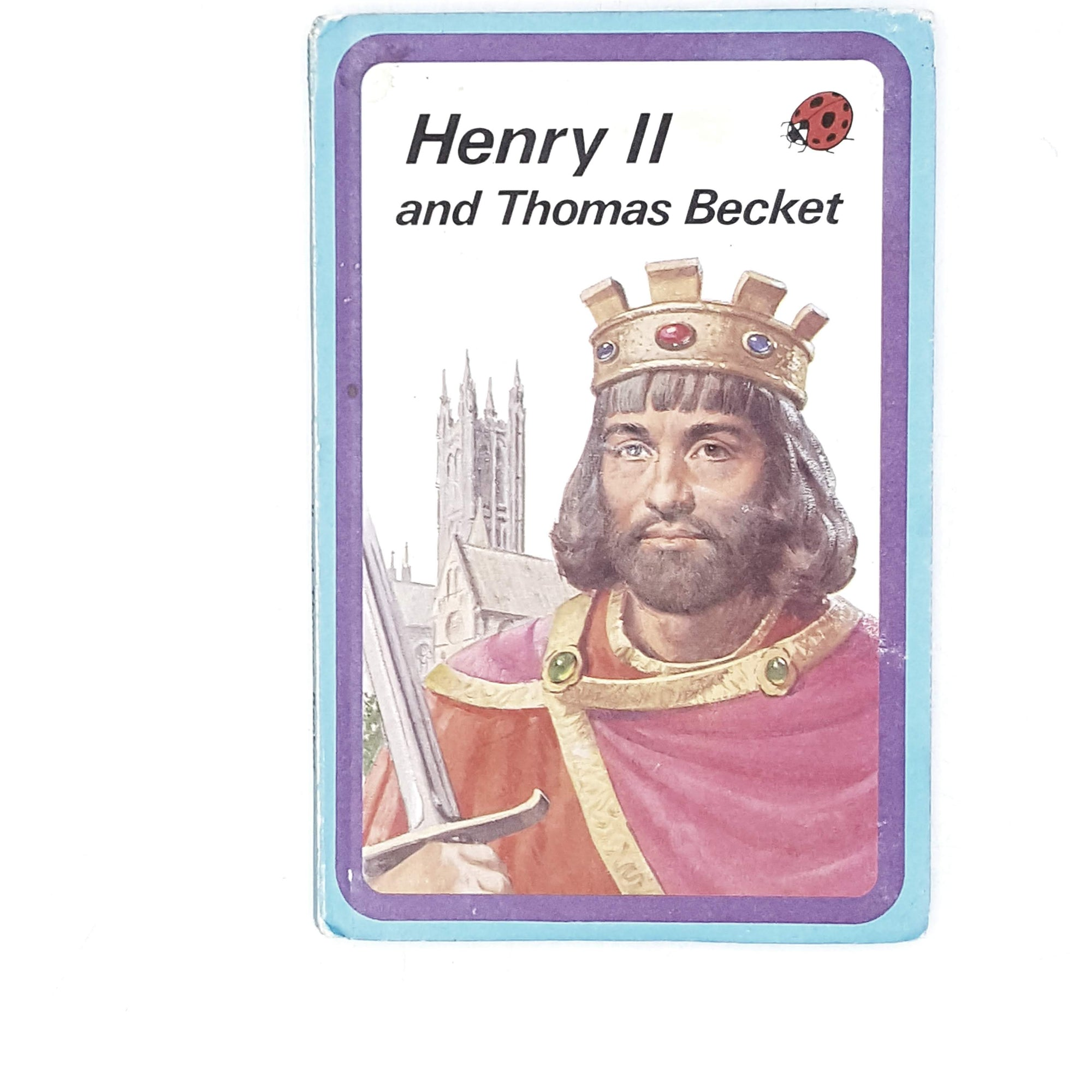 Vintage Ladybird History: Henry II and Thomas Becket 1974