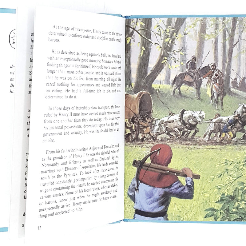 vintage-ladybird-history-henry-ii-and-thomas-becket-1974-antique-kindergarten-books-country-house-library