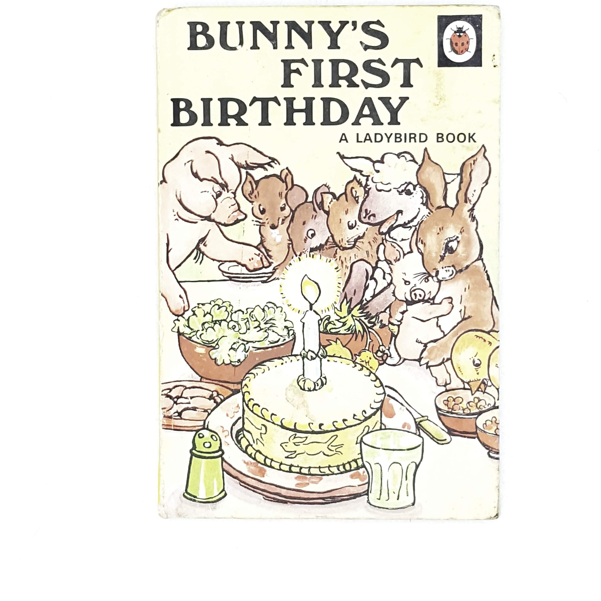 vintage-ladybird-fiction-bunnys-first-birthday-1950-antique-kindergarten-books-country-house-library