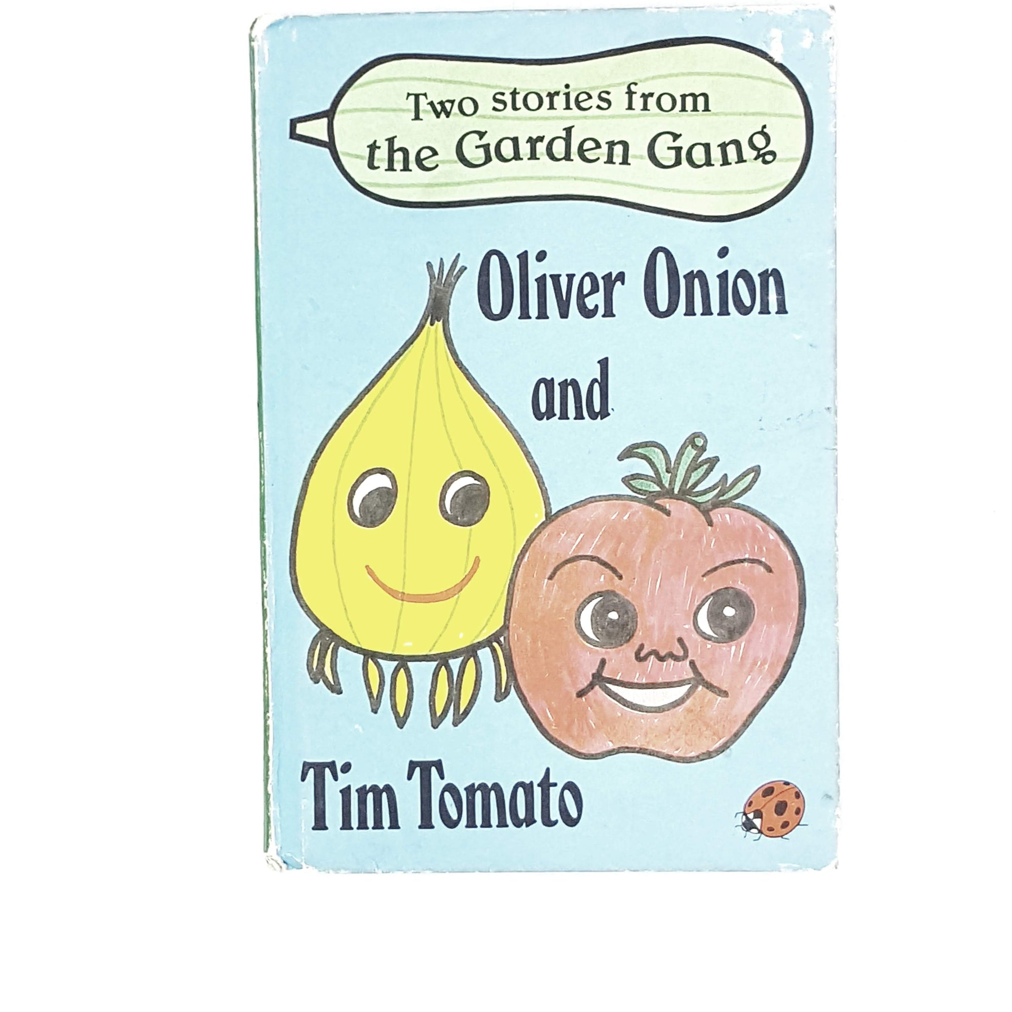 Vintage Ladybird Garden Gang: Oliver Onion and Tim Tomato 1979