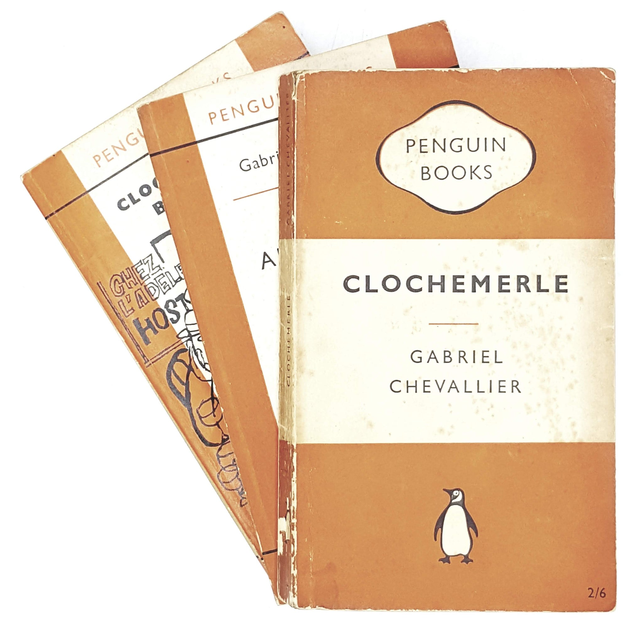 Vintage Penguin Collection of Gabriel Chevallier 1954 - 1961