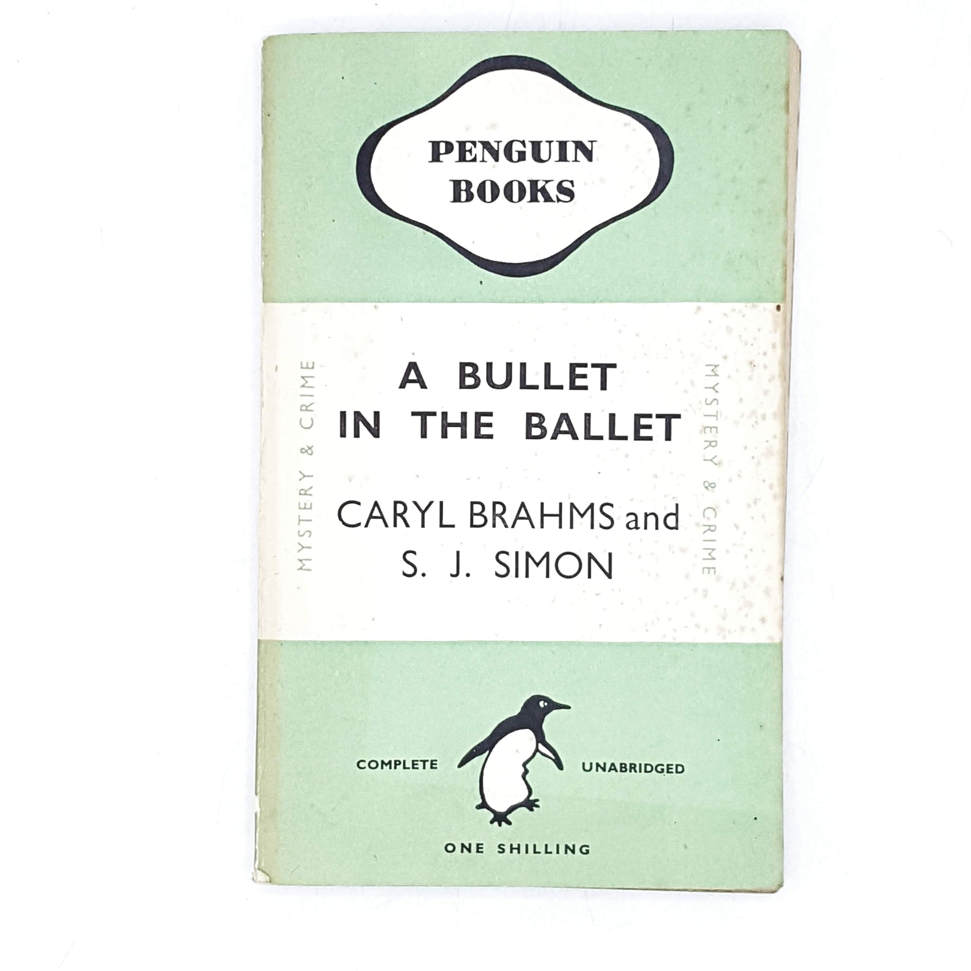 vintage-penguin-a-bullet-in-the-ballet-by-caryl-brahms-and-s-j-simon-1946-green-antique-books-country-house-library