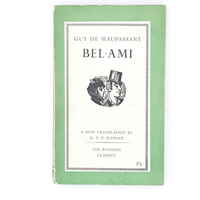 vintage-penguin-bel-ami-by-guy-de-maupassant-1961-green-antique-books-country-house-library