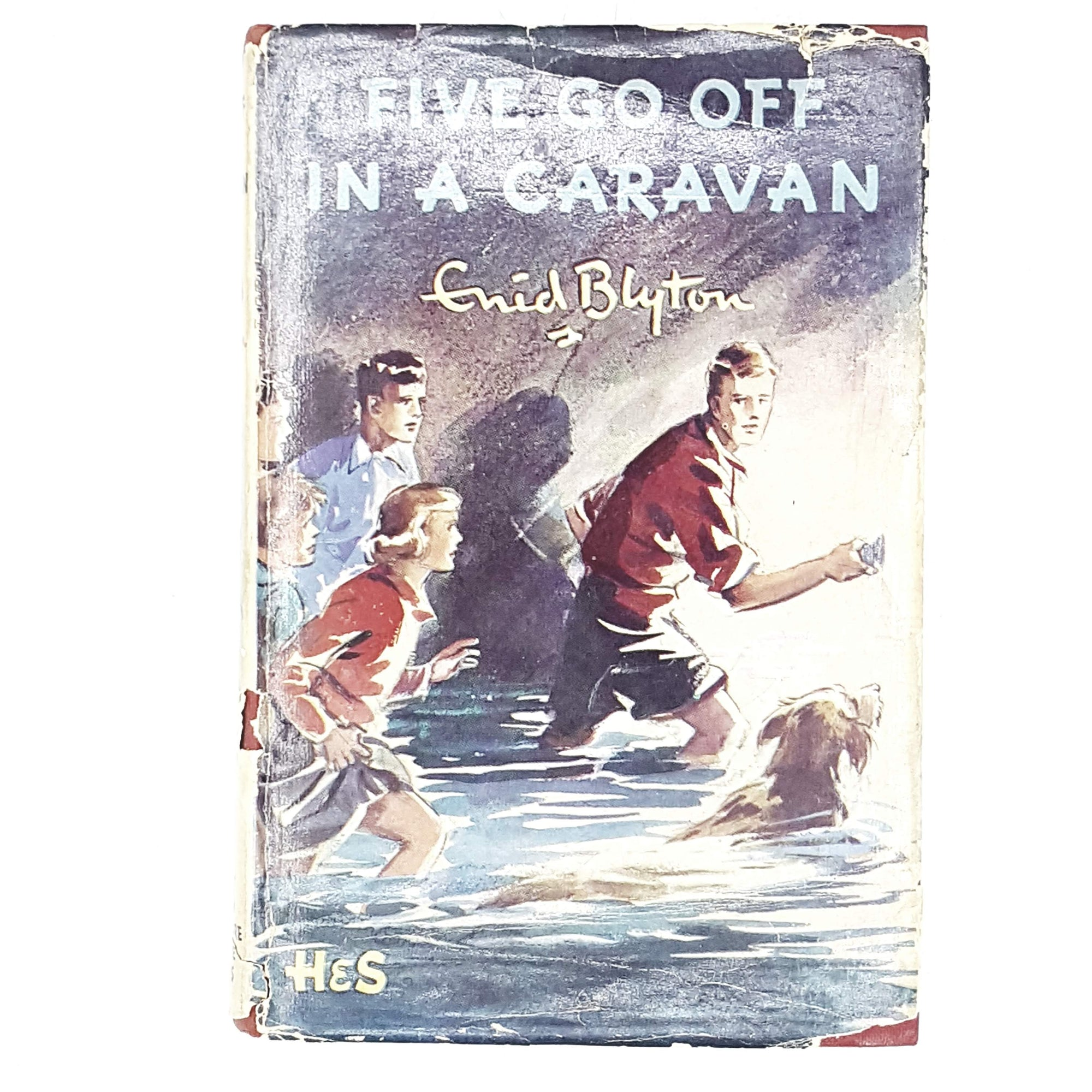 enid-blytons-five-go-off-in-a-caravan-1956-country-house-library