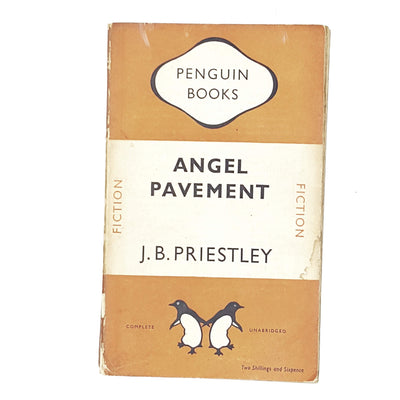 vintage-penguin-angel-pavement-by-j-b-priestley-1948-orange-classic-literature-country-house-library