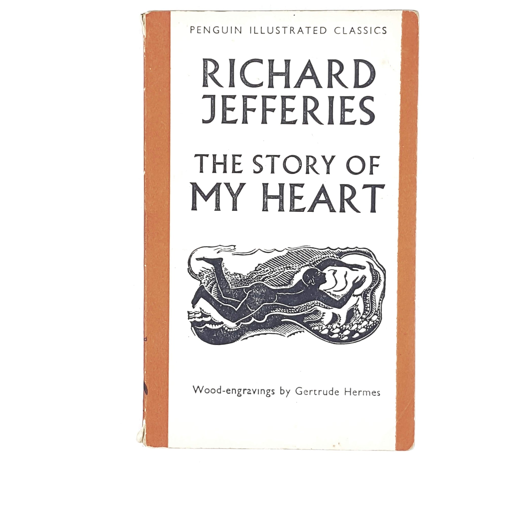 Vintage Penguin Illustrated The Story of My Heart by Richard Jeffries 1938